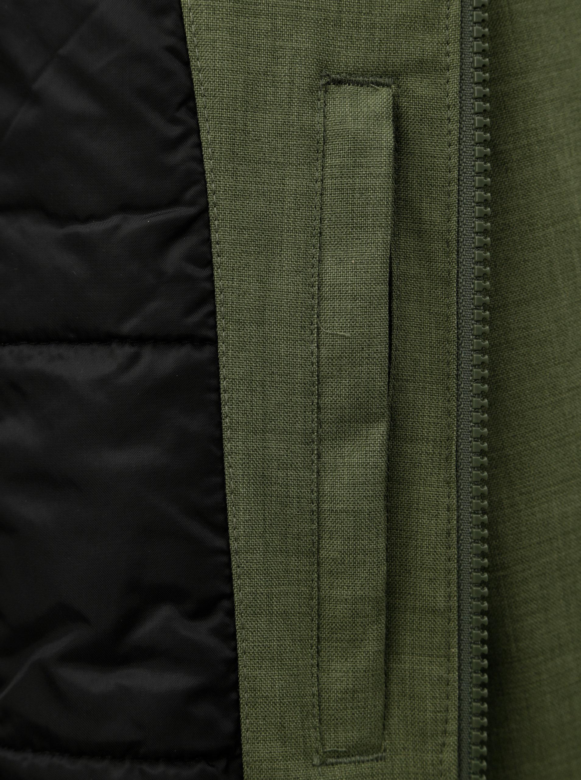Zelená dámska funkčná zimná parka so zateplenou kapucňou Horsefeathers Mica  ... 90cd2fca214