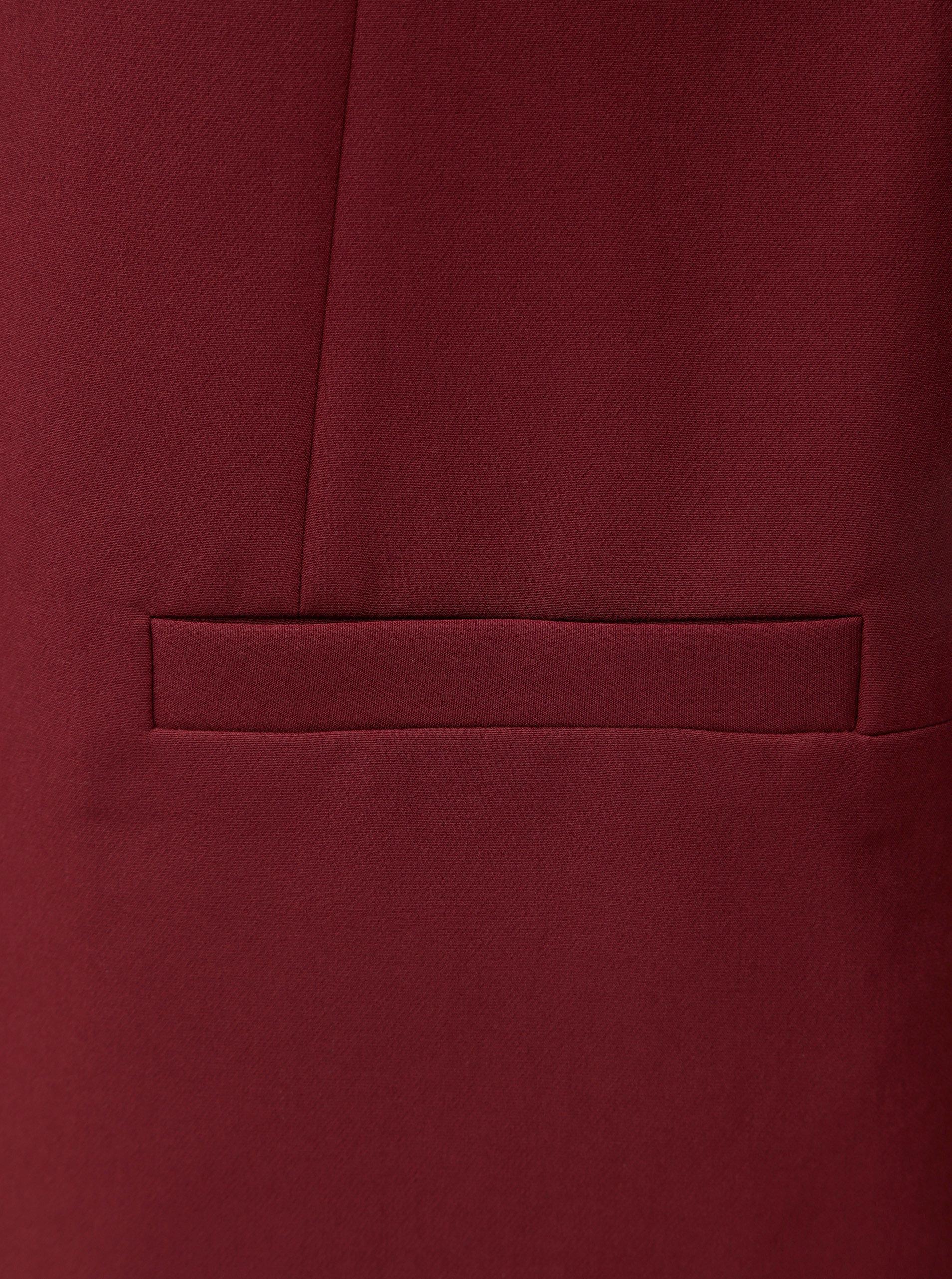 52e3c47aa9d1 Vínové kostýmové sako Dorothy Perkins Claret ...