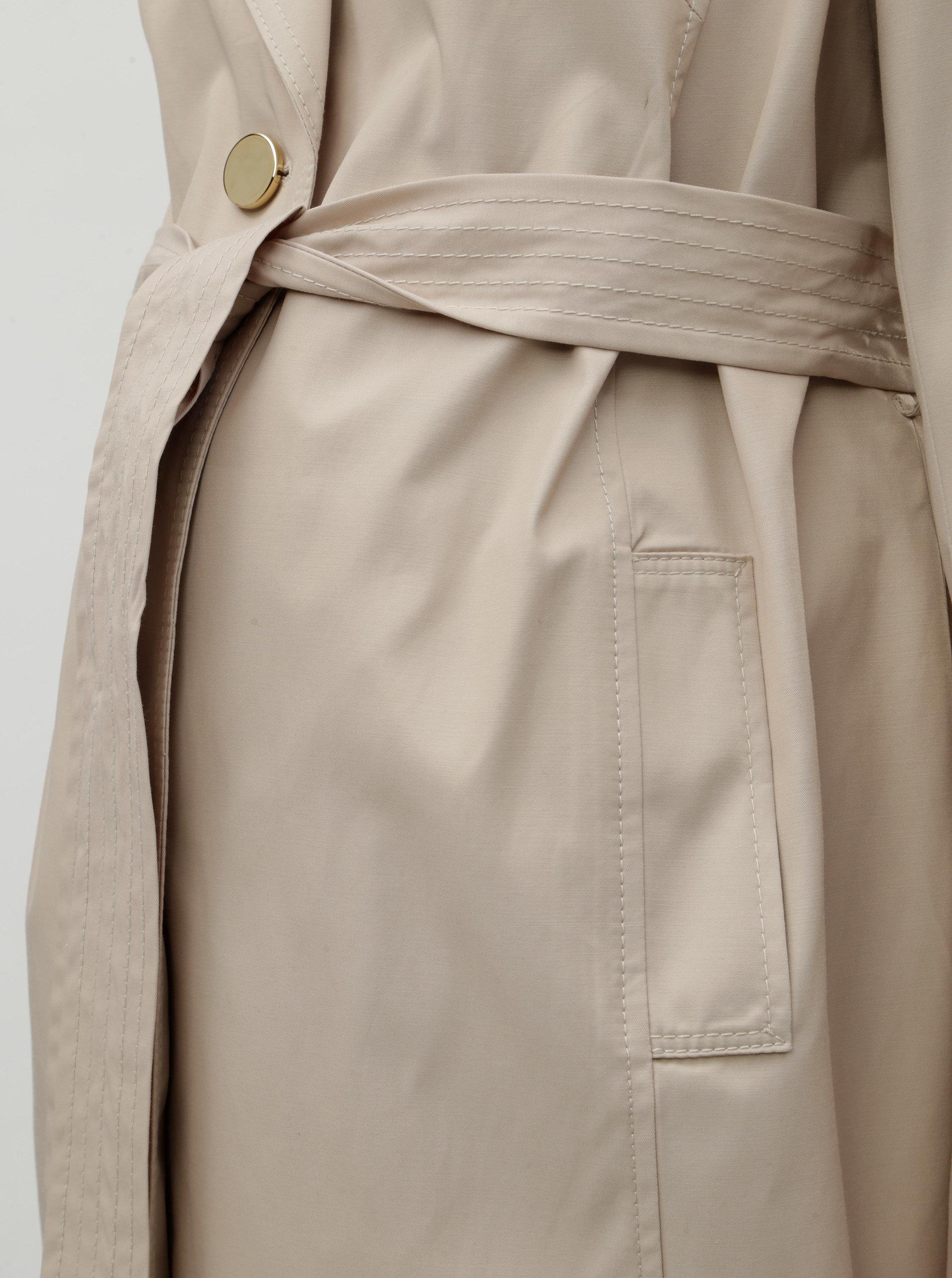 Béžový těhotenský lehký kabát Dorothy Perkins Maternity ... 9f47e4d7b7c