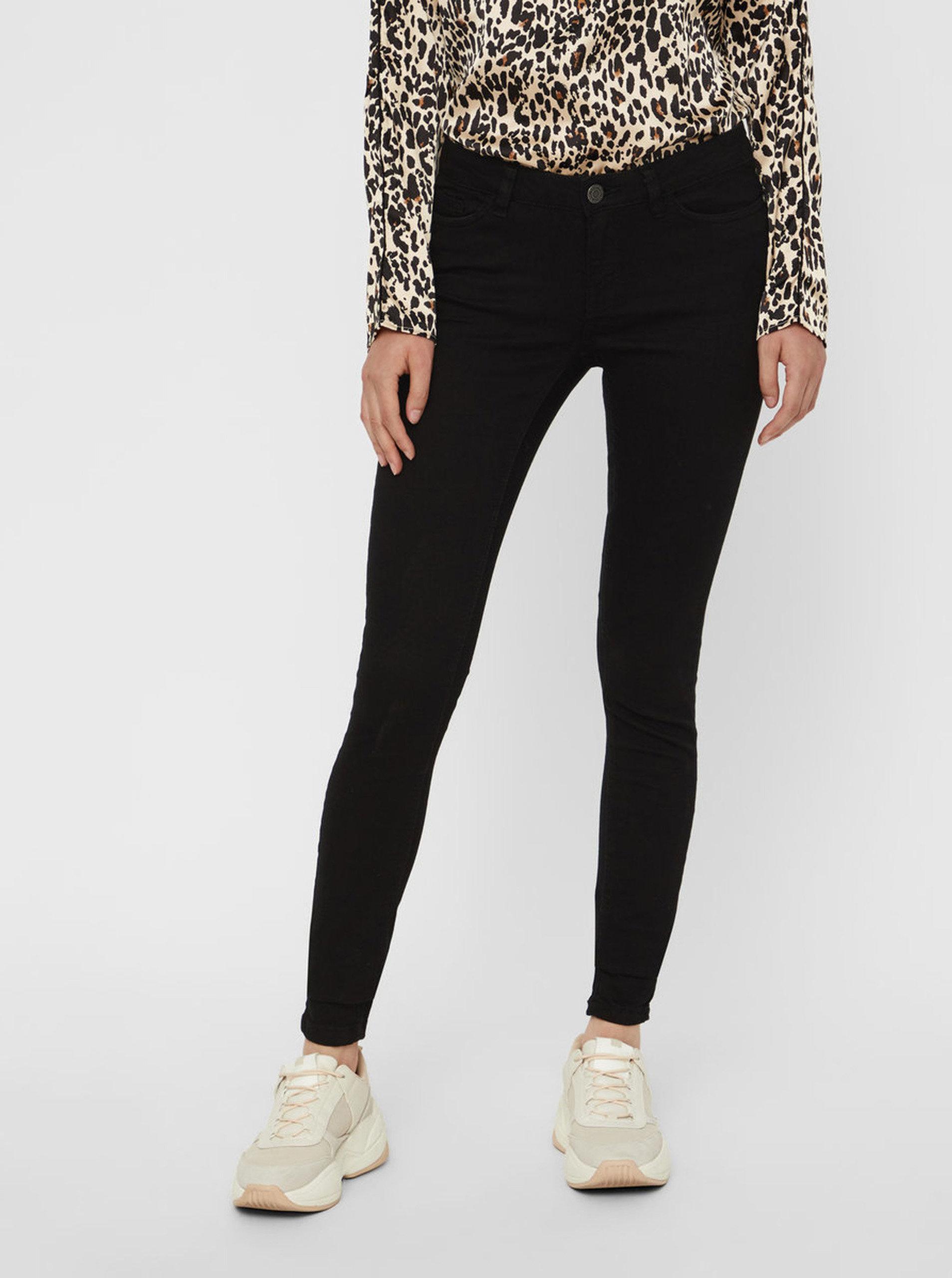 bf9feca4e99 Černé skinny džíny s nízkým pasem Noisy May Extra ...