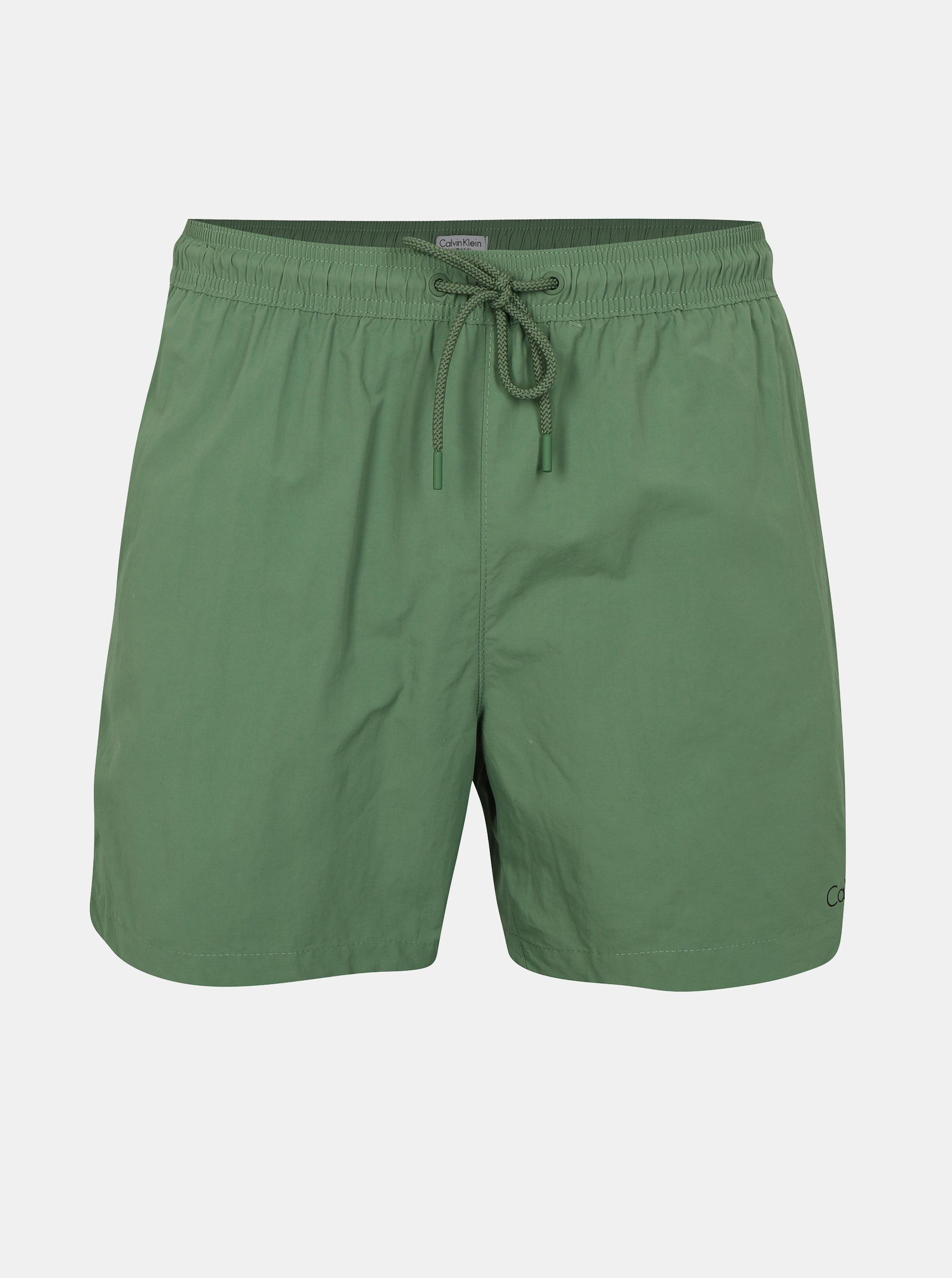 0c317a61f452e Pantaloni scurti de baie verzi pentru barbati - Calvin Klein Underwear ...