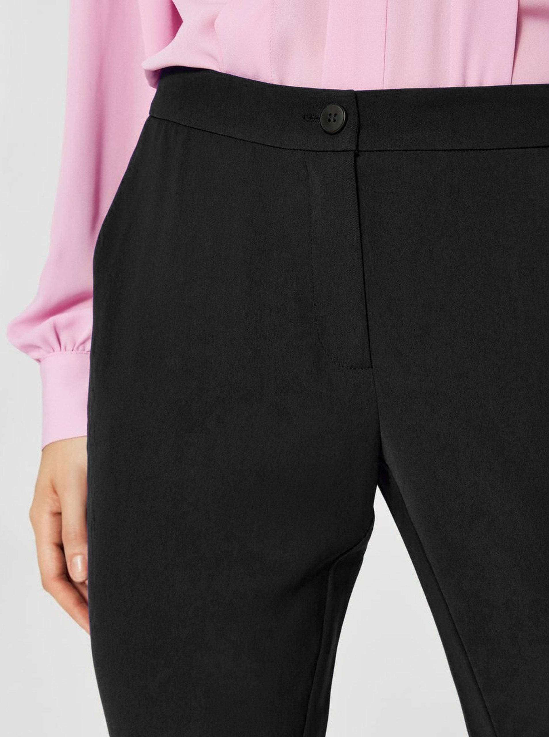 cf5b24419fc Černé kalhoty Selected Femme Sofia ...