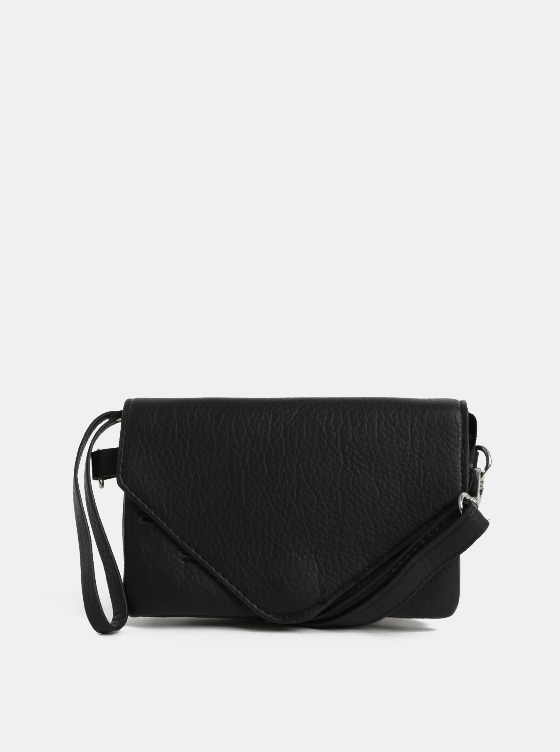 Čierna malá crossbody kabelka Pieces Lapis ... 9348b30e254