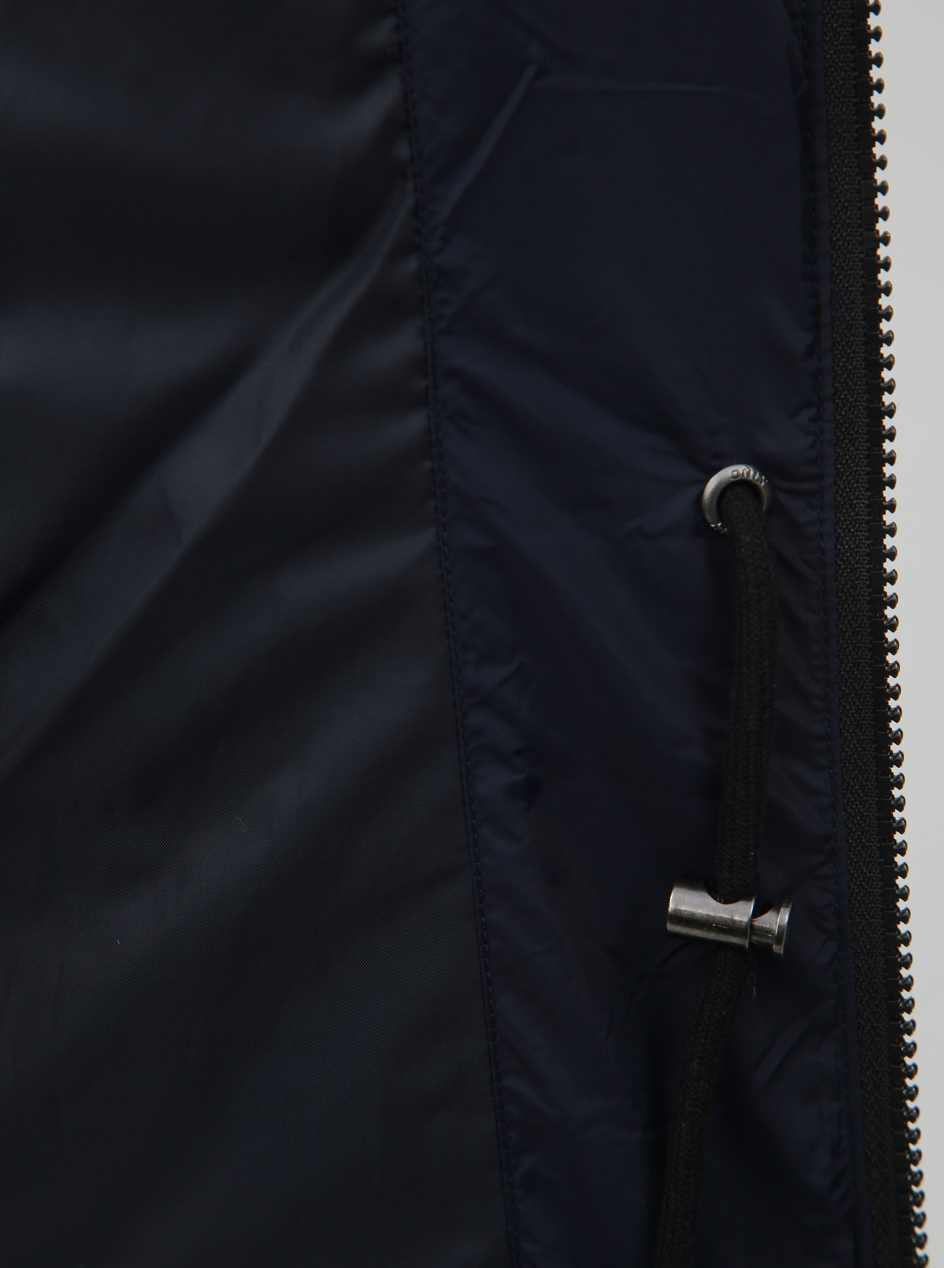 Tmavomodrý prešívaný zimný kabát s odnímateľnou kapucňou ONLY Newottowa ... 111c2631201