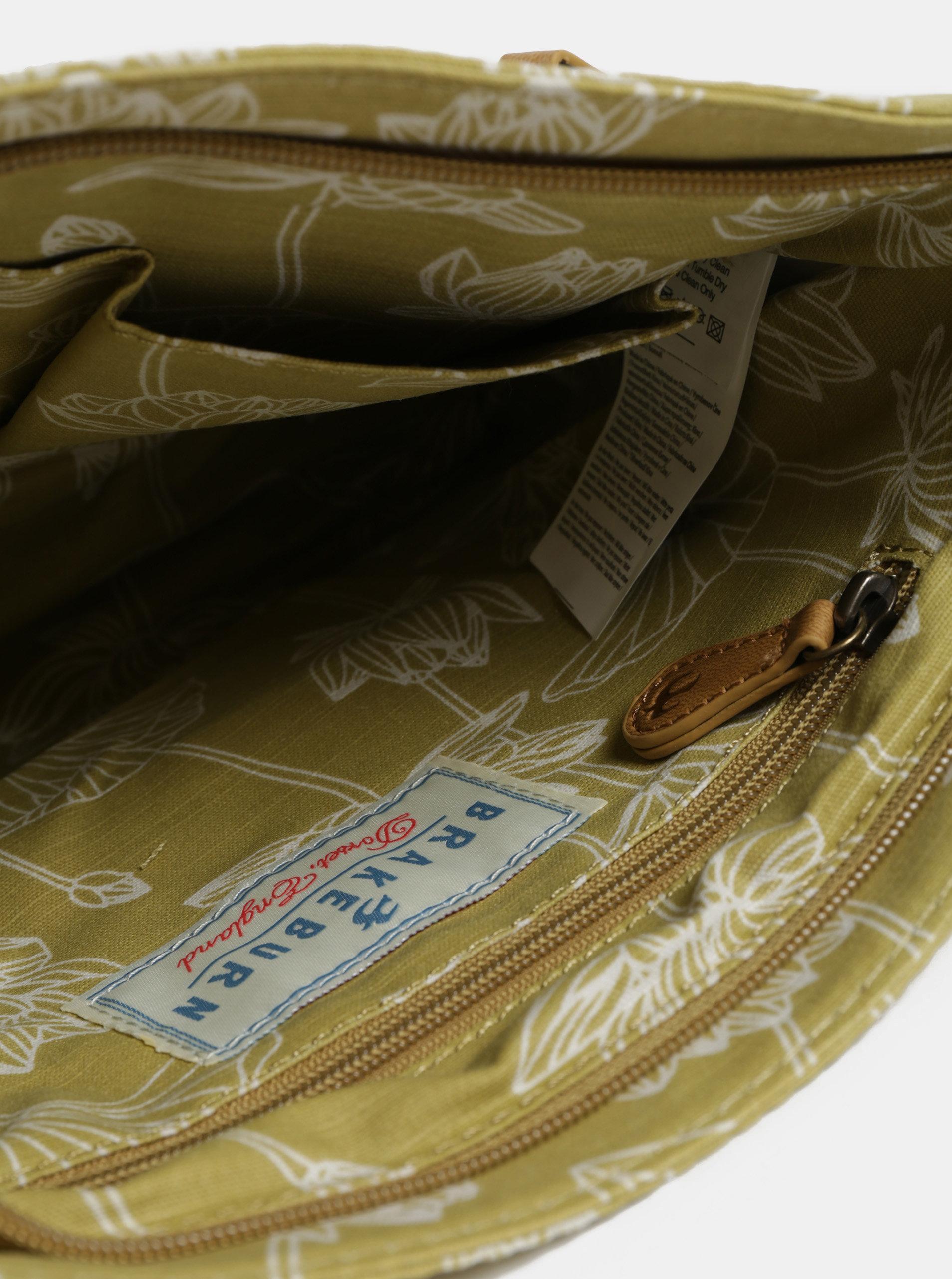 Svetlozelená vzorovaná crossbody kabelka Brakeburn ... 8fcfb543a5e