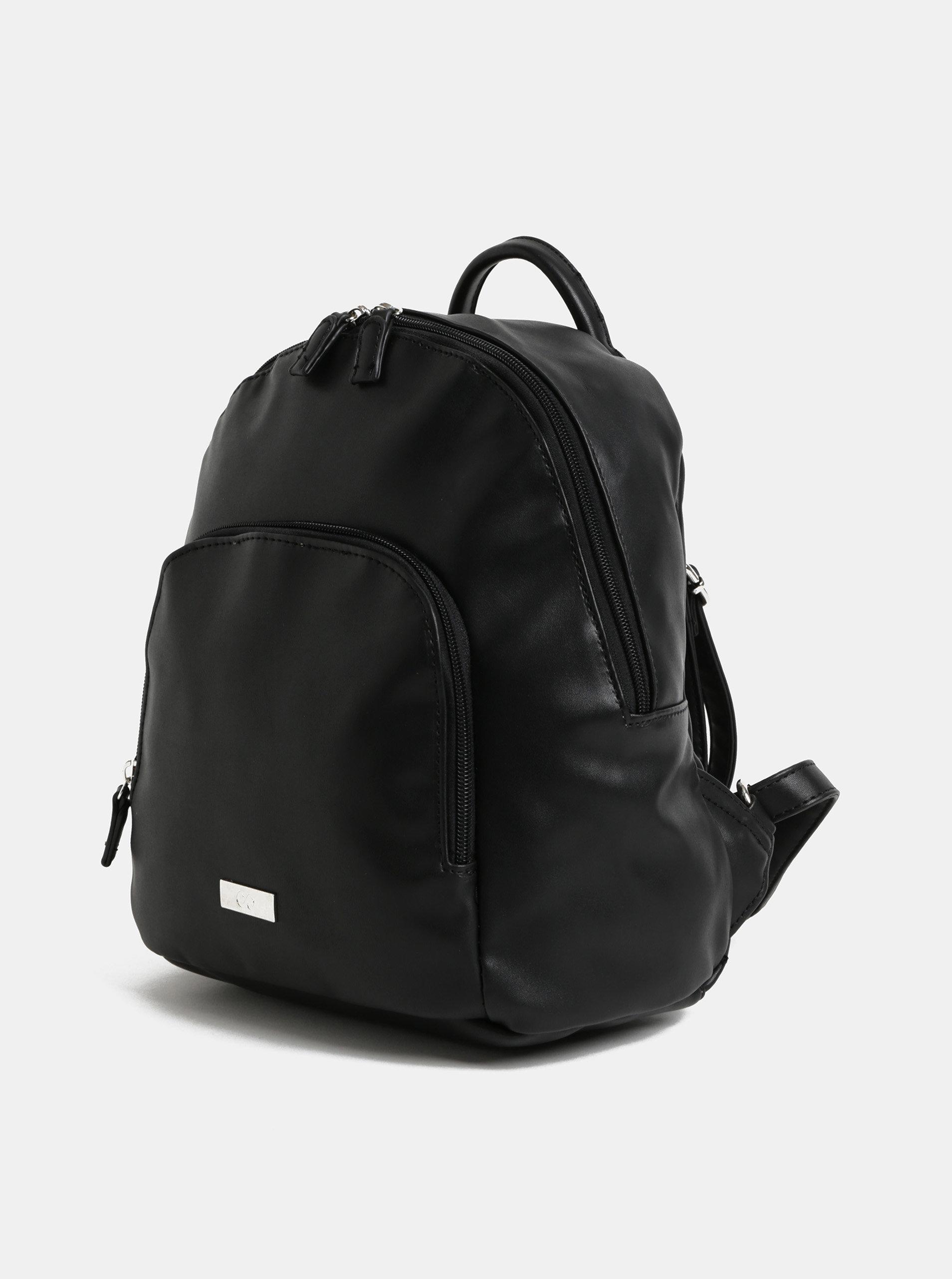 Černý batoh s přední kapsou ZOOT ... 4a60689a70