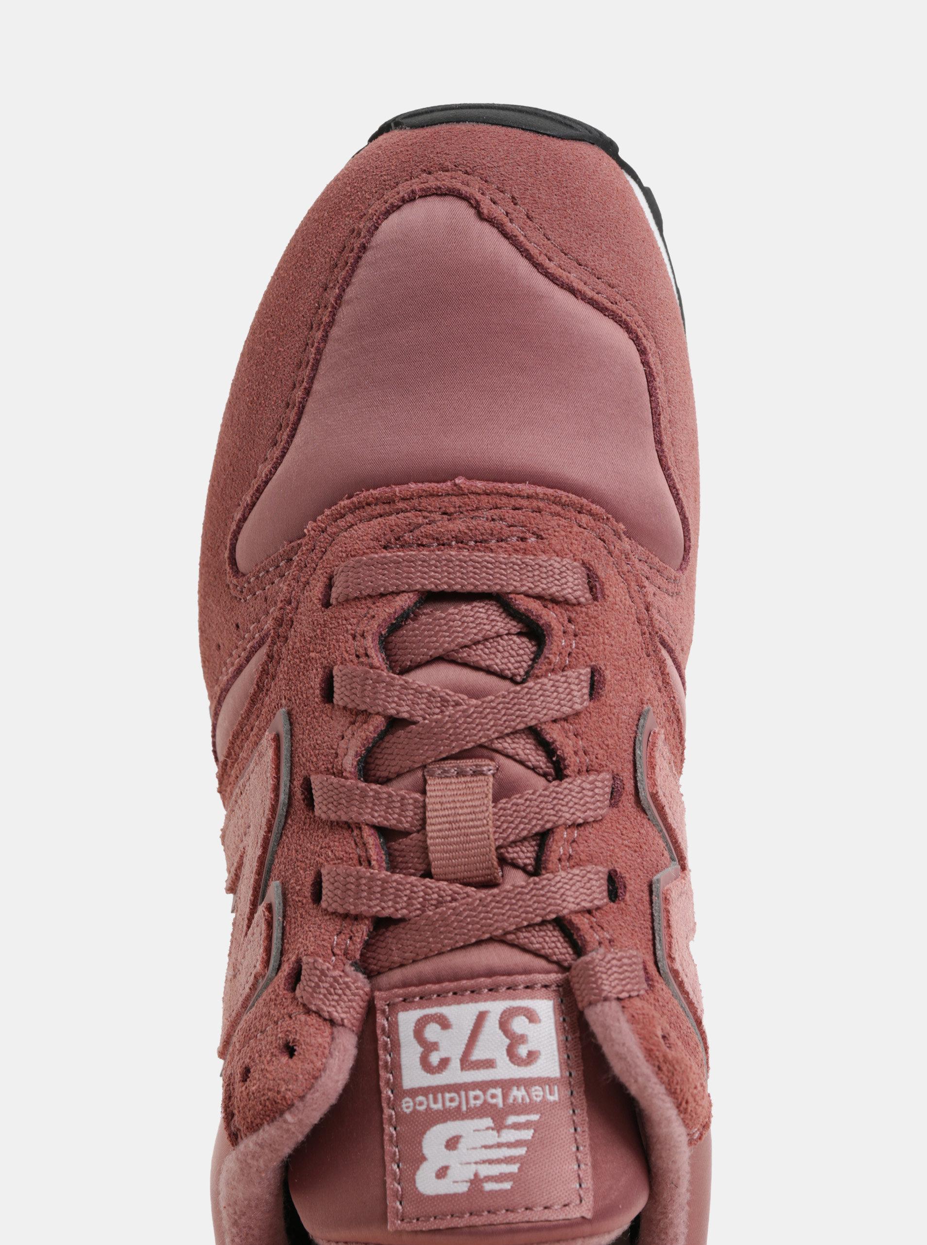 6e0de37aa153 Staroružové dámske semišové tenisky New Balance 373 ...