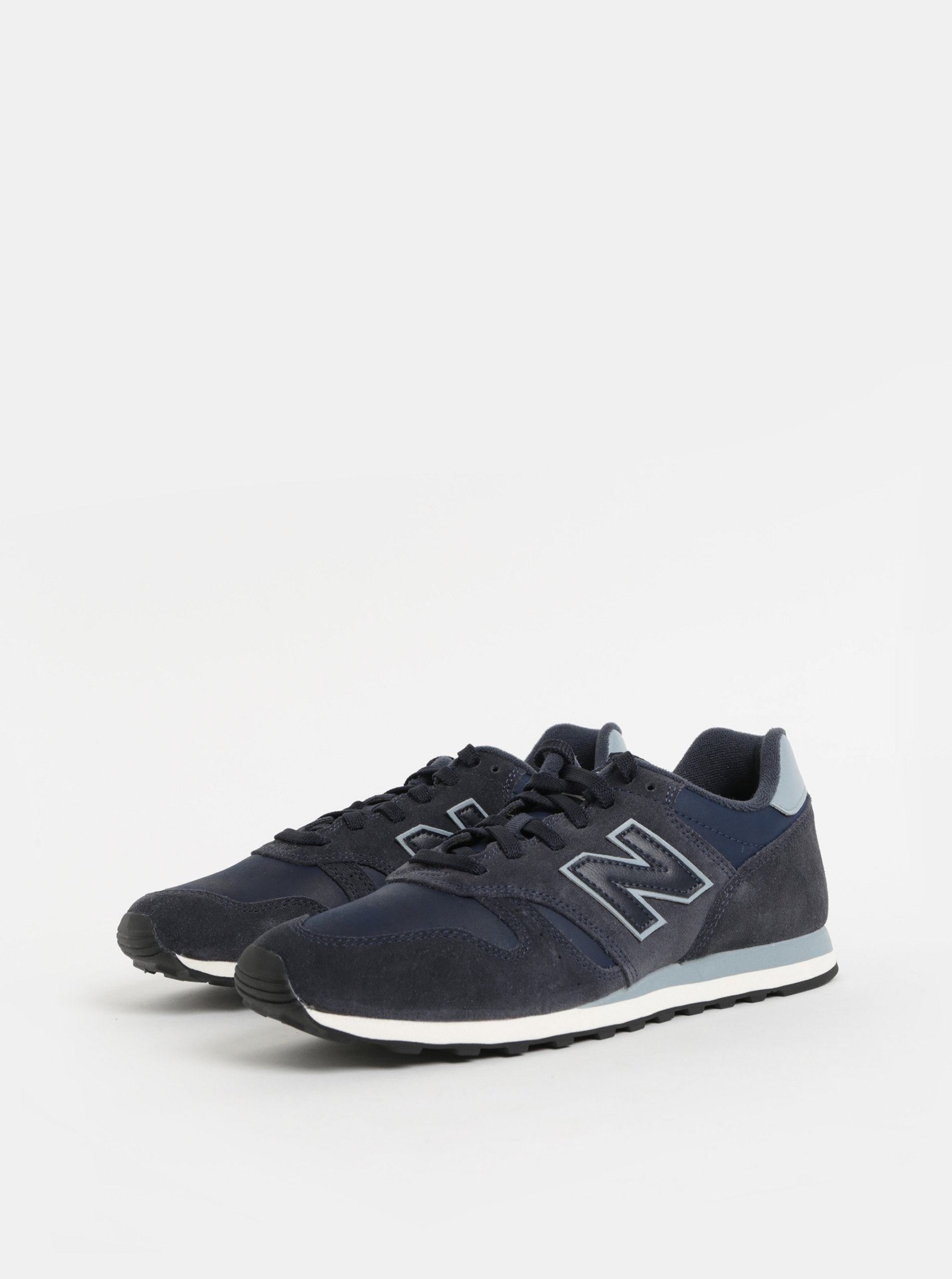 Tmavě modré pánské semišové tenisky New Balance ... 6408e013e4