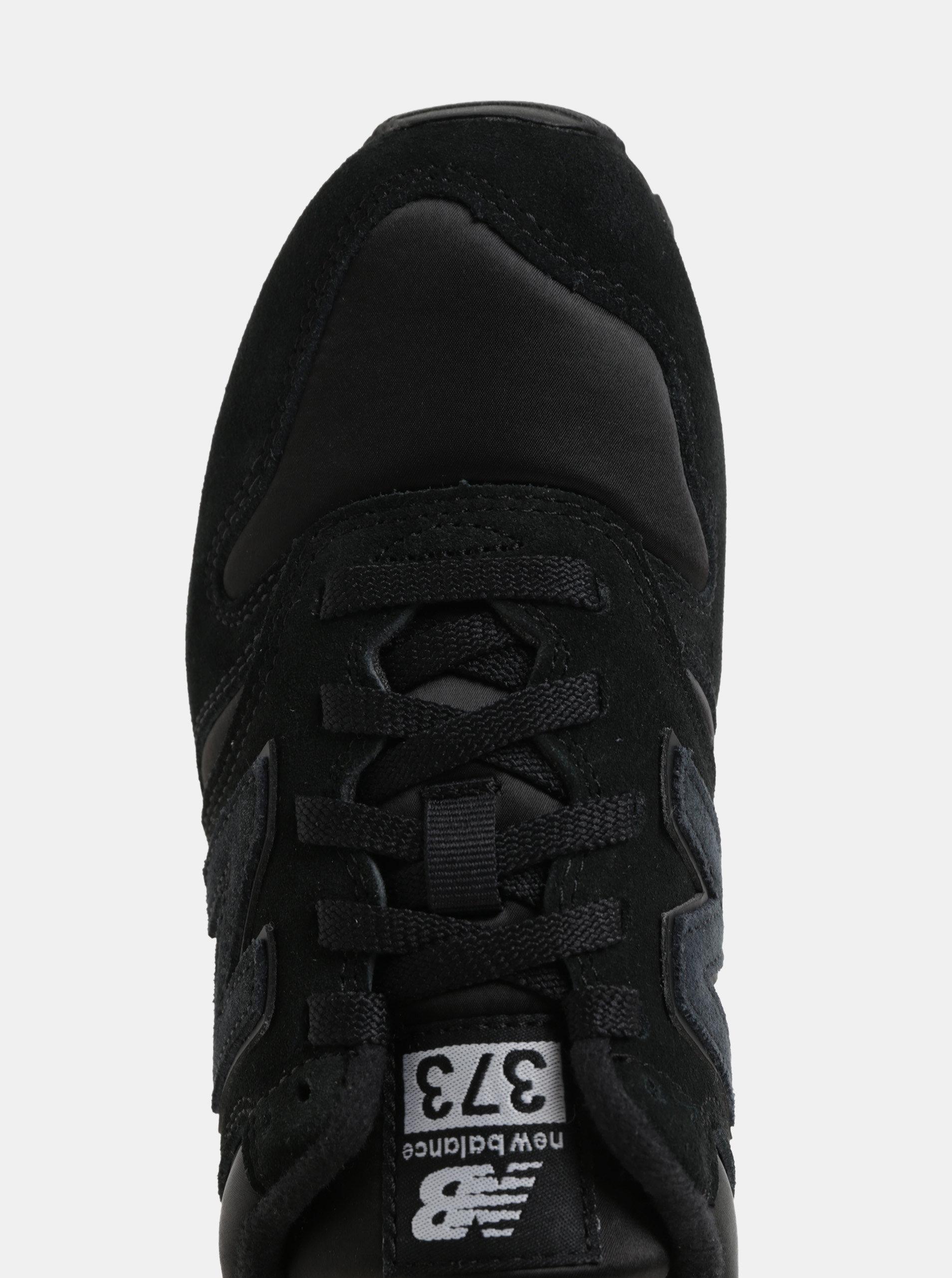 Černé dámské semišové tenisky New Balance ... 4d8cb12a5c