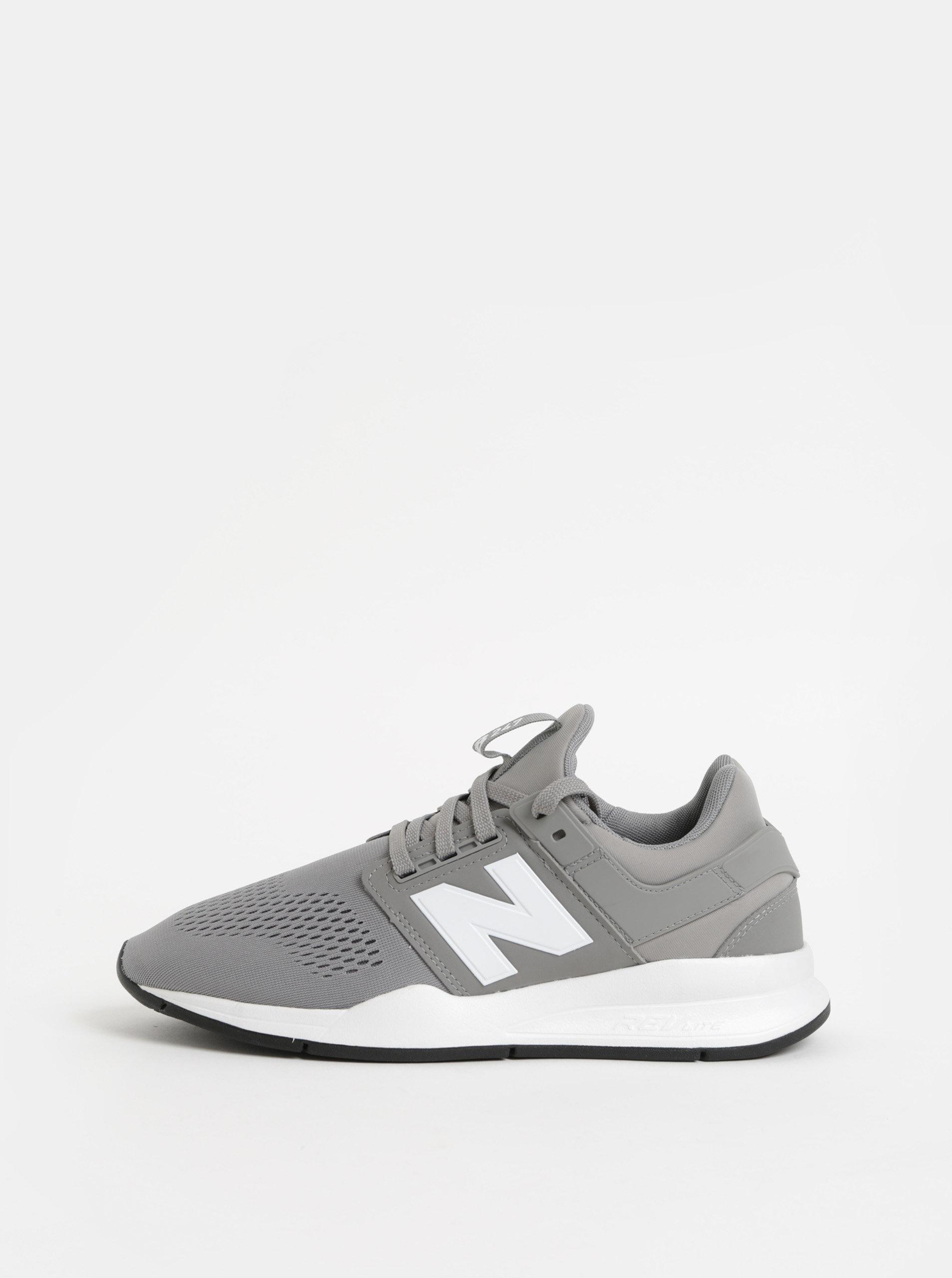 b21432baa4 Sivé pánske tenisky New Balance 247 ...