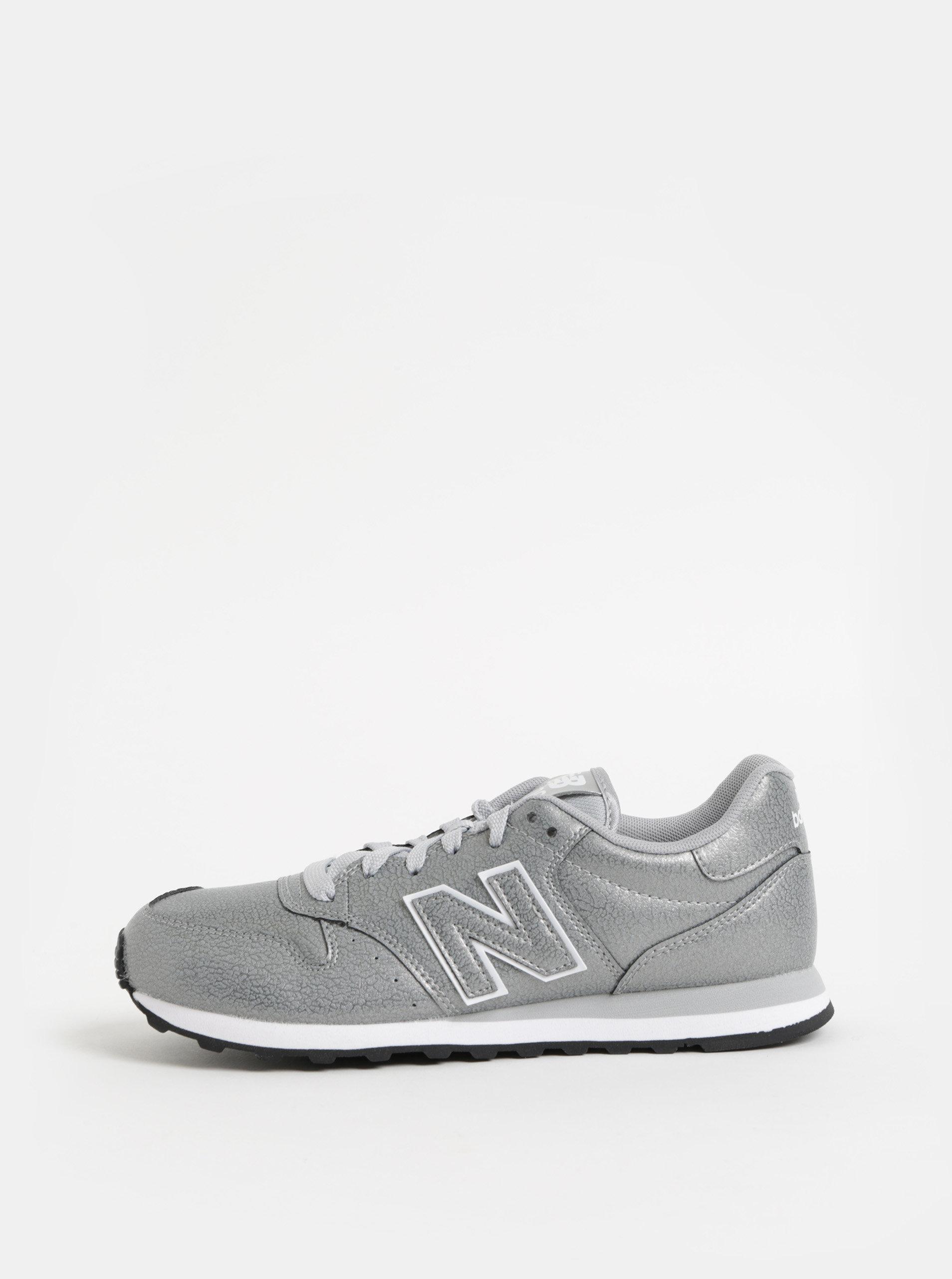 29c5f57942d Dámské tenisky ve stříbrné barvě New Balance ...
