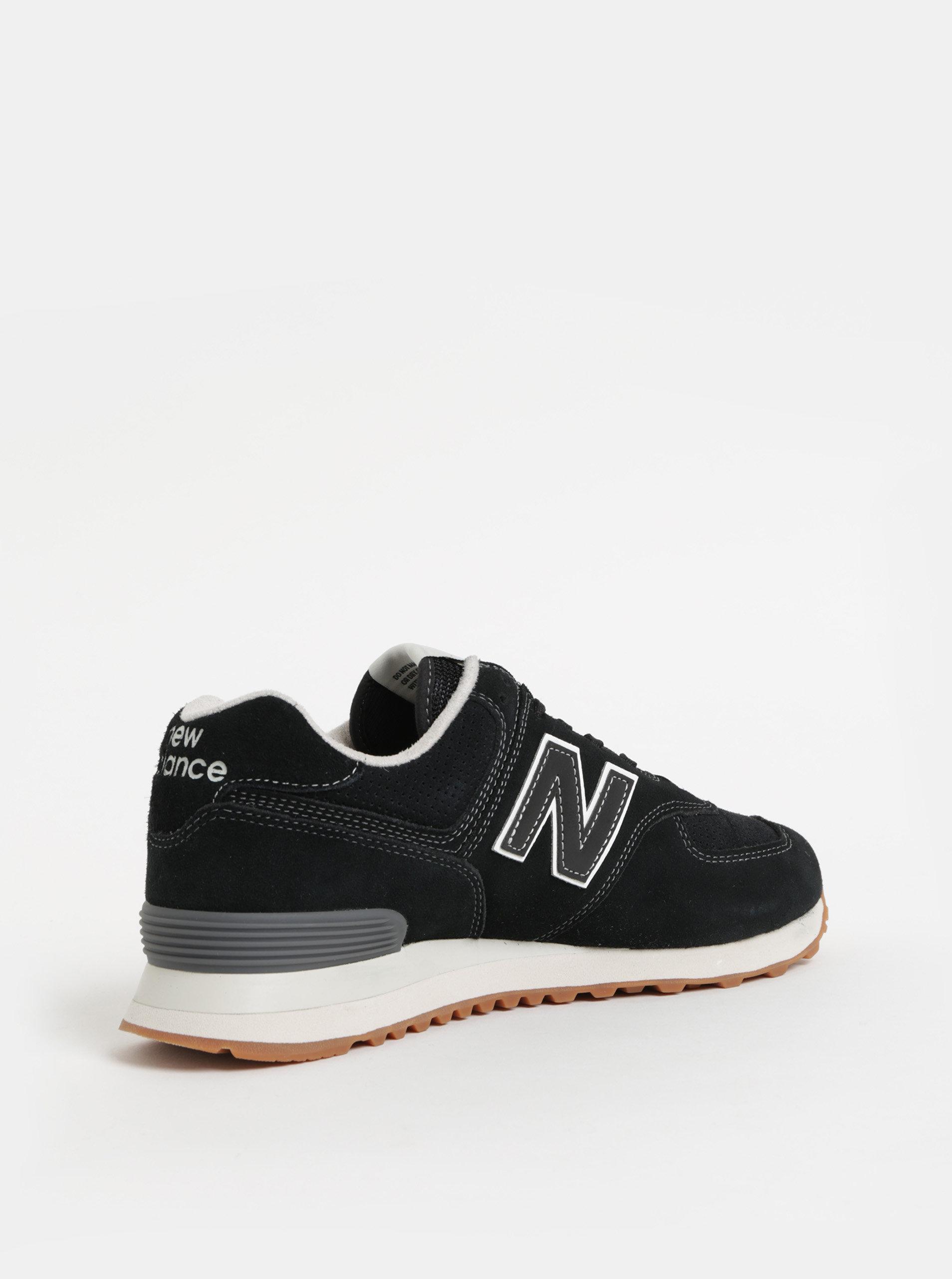 Čierne pánske semišové tenisky New Balance ... 9ff578b710d