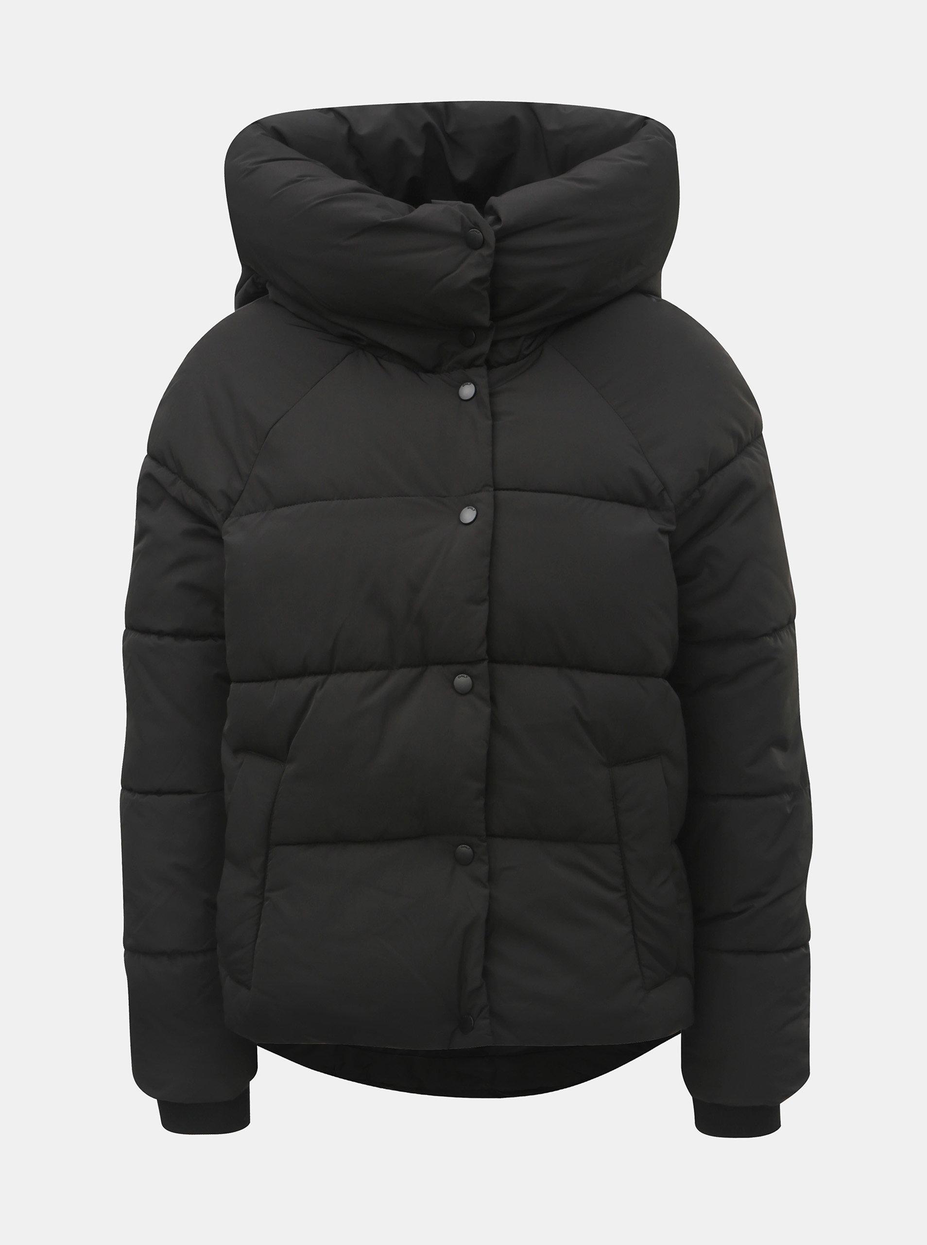 ecee3626166 Černá zimní prošívaná bunda ONLY Mari ...