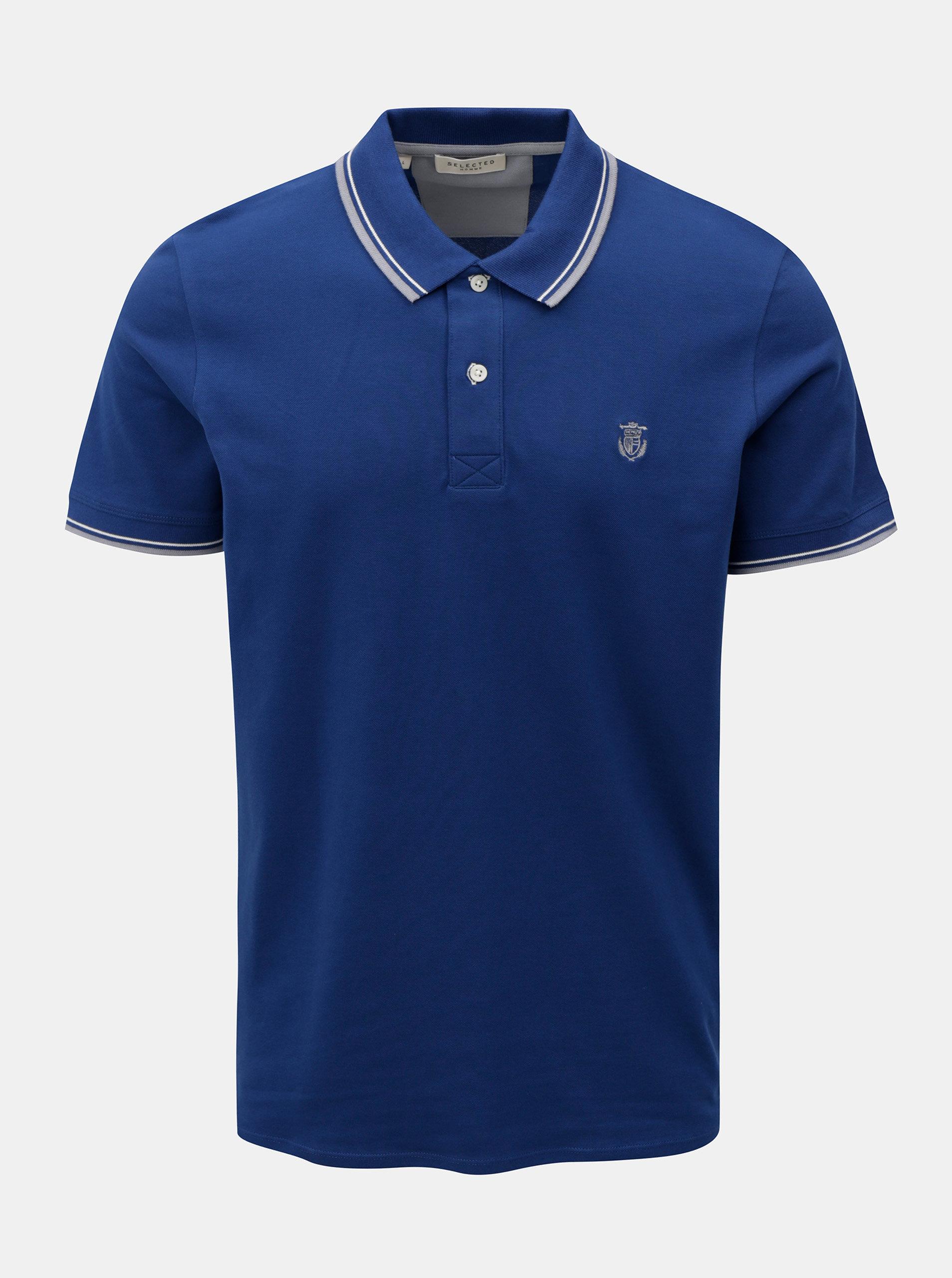 Tmavě modré polo tričko Selected Homme New Season