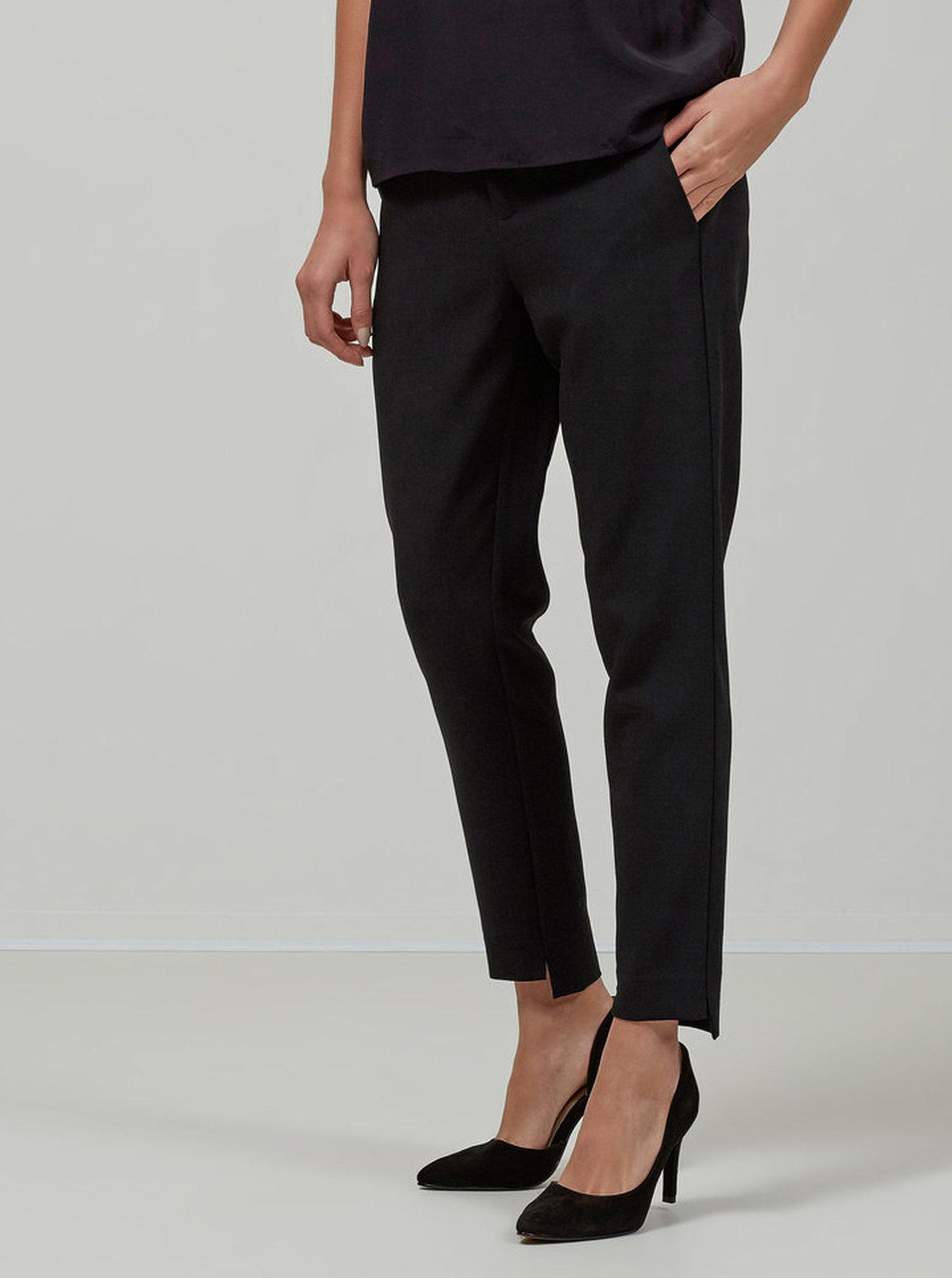 19e901a417c Černé společenské kalhoty Selected Femme Amilia ...