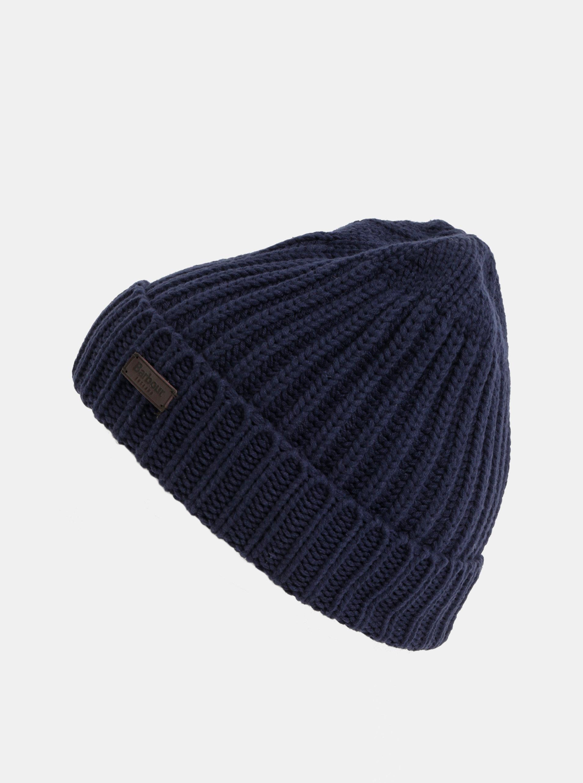 Set čepice a šály v tmavě modré barvě v dárkovém balení Barbour ... 7f1412511b