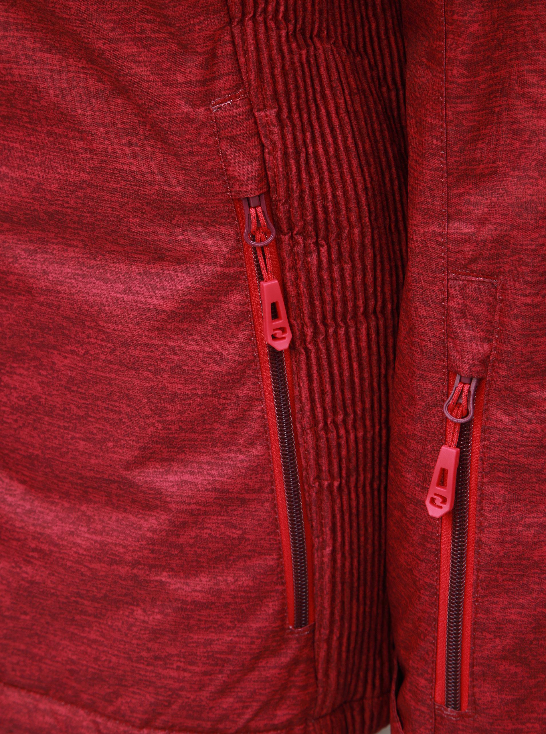 c891afc99e Tmavoružová dámska melírovaná lyžiarska bunda LOAP Francis ...