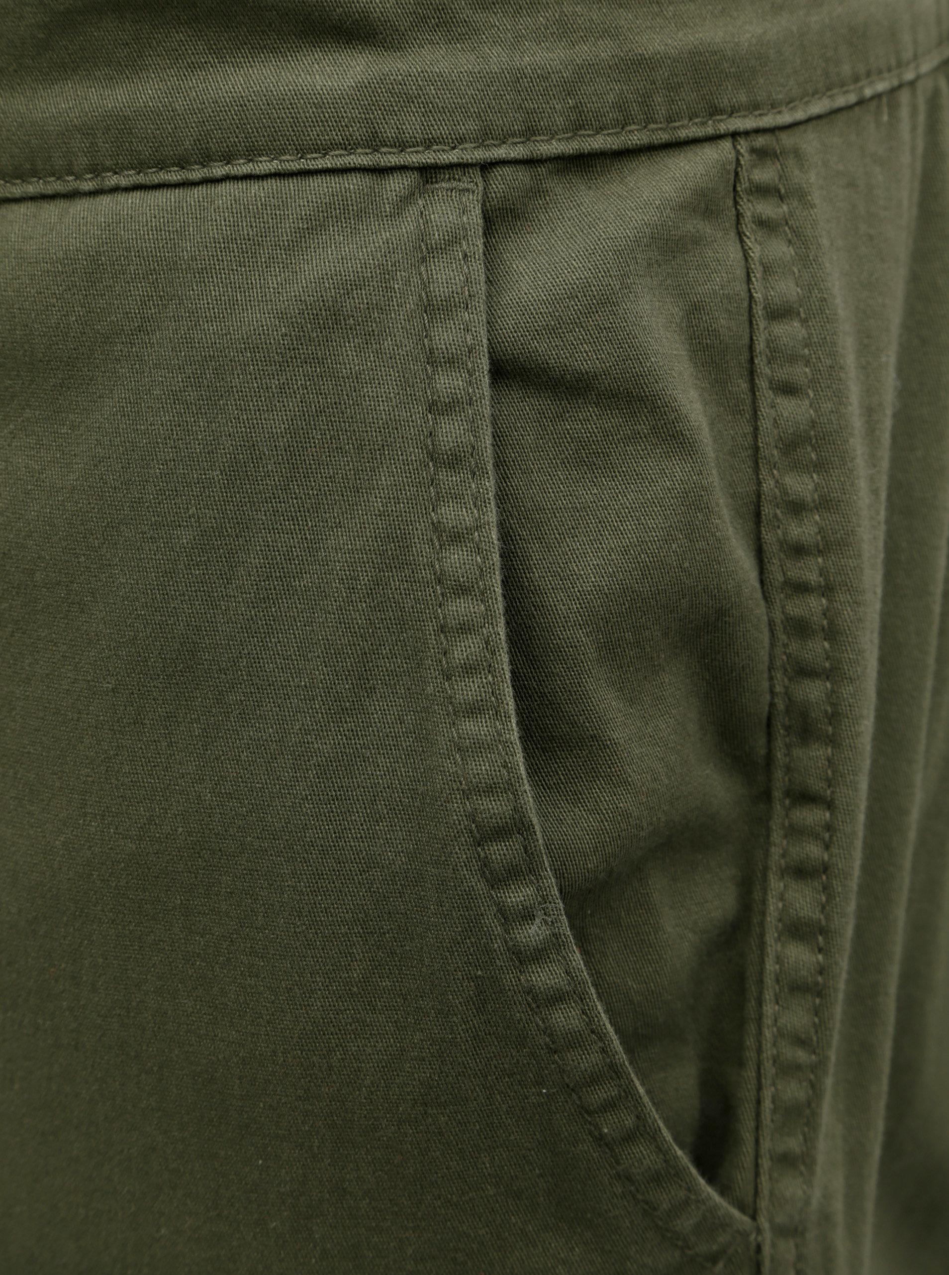 84fb2066469 Khaki slim fit kalhoty s kapsami ONLY   SONS ...