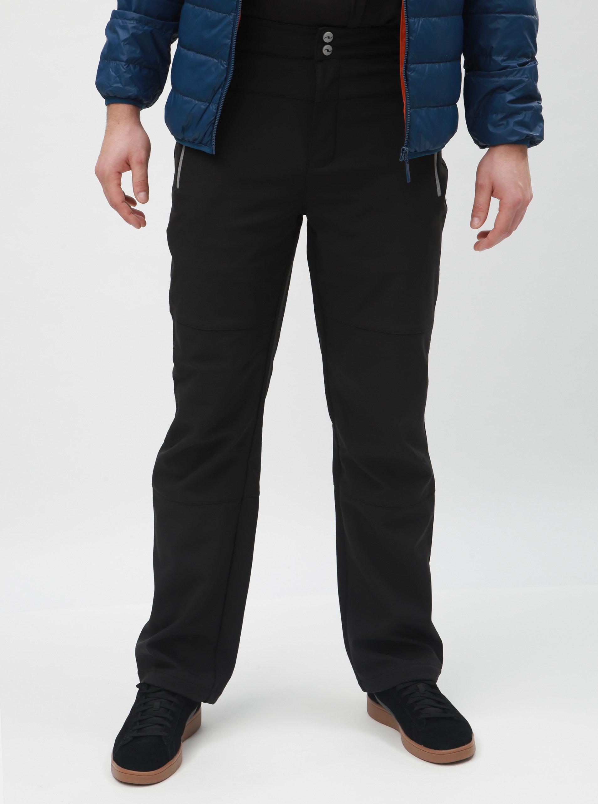 395e626d6b53 Čierne pánske softshellové nohavice LOAP Liah ...