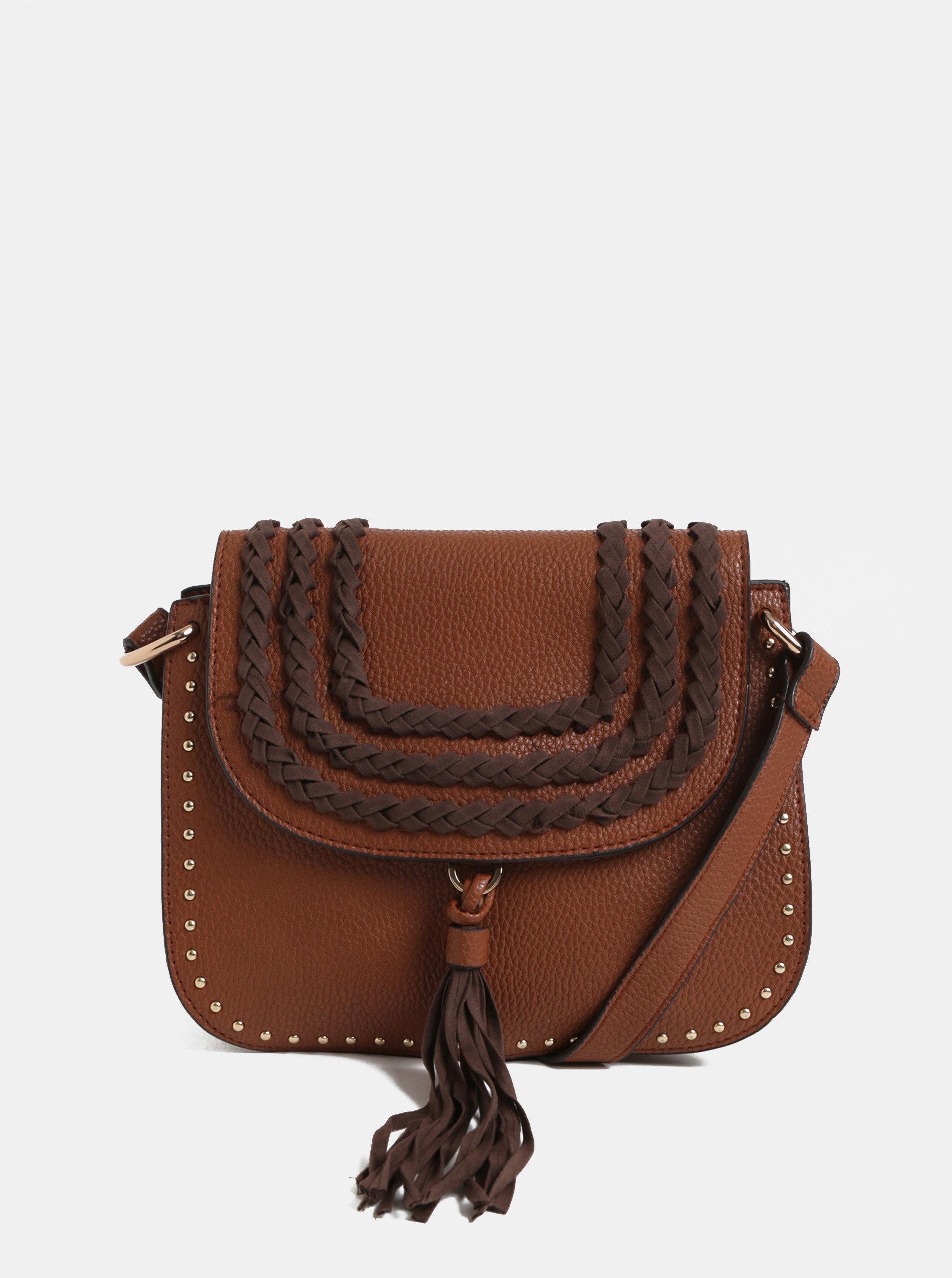 4557a590e266 Hnedá crossbody kabelka so strapcami Dorothy Perkins ...