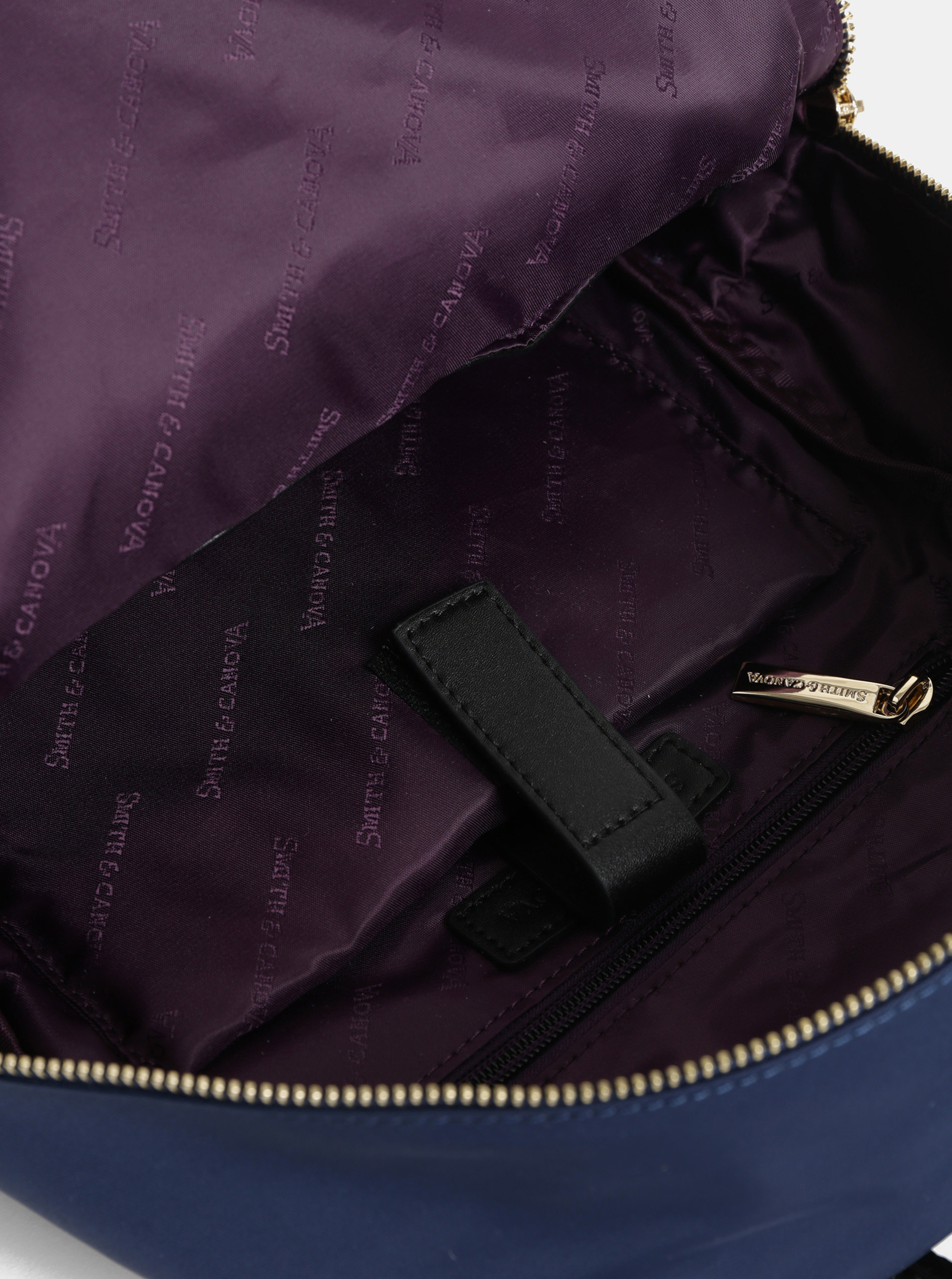 Modrý batoh Smith   Canova ... afe3a631a3