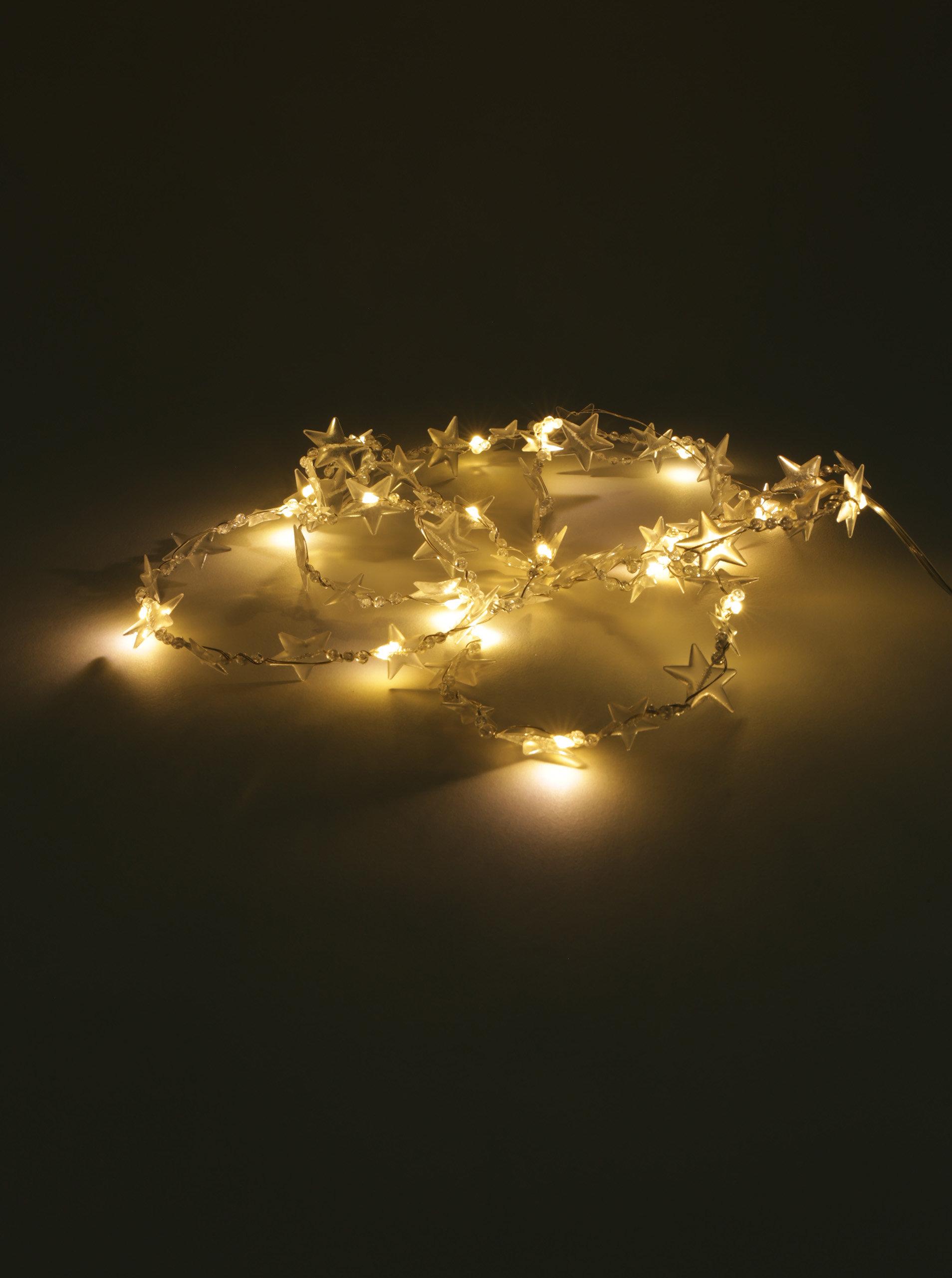 58f53d360 Mikro LED svetelná reťaz v tvare hviezd Kaemingk | ZOOT.sk