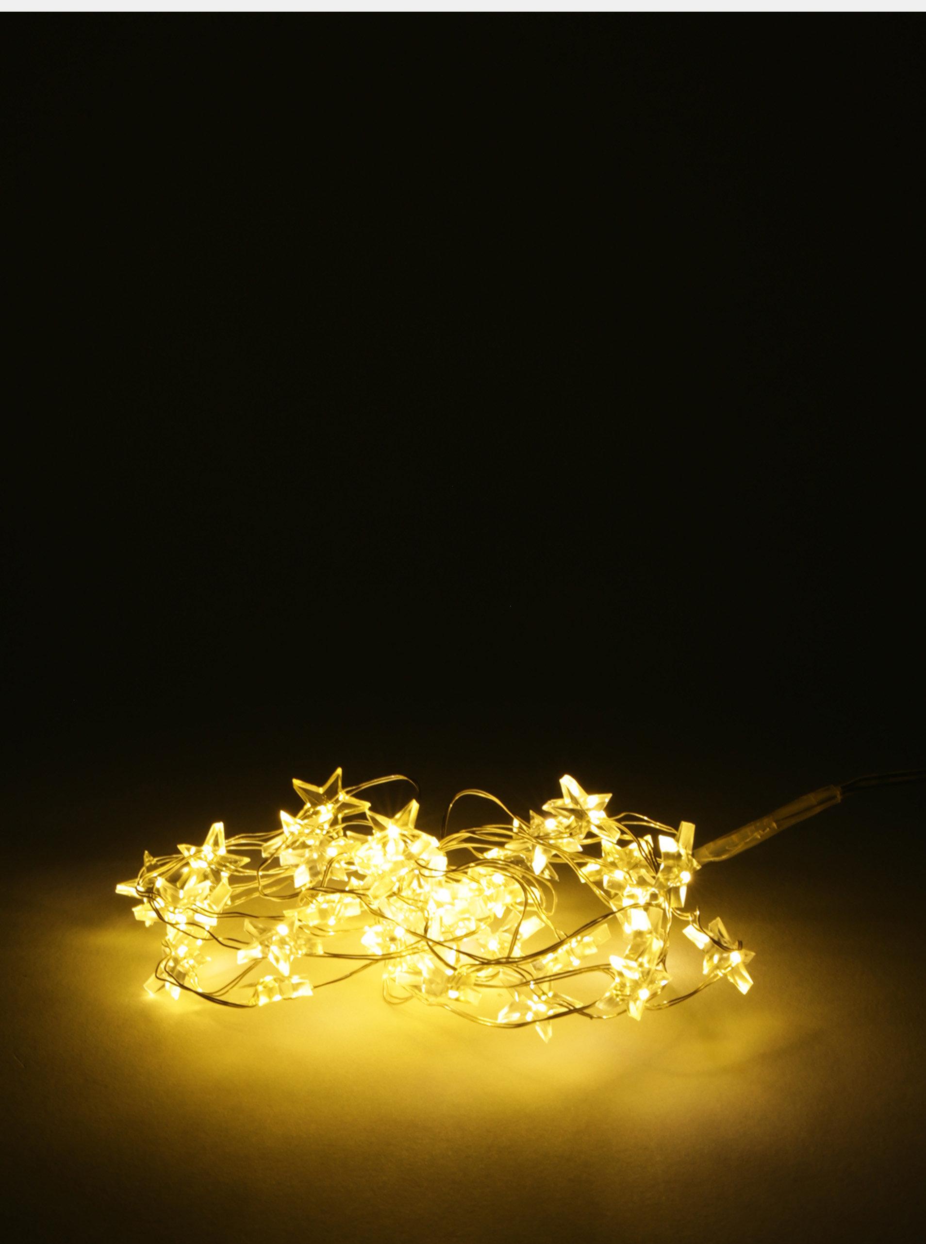ac7a5bbb7 Mikro LED svetelná reťaz v tvare malých hviezd Kaemingk | ZOOT.sk