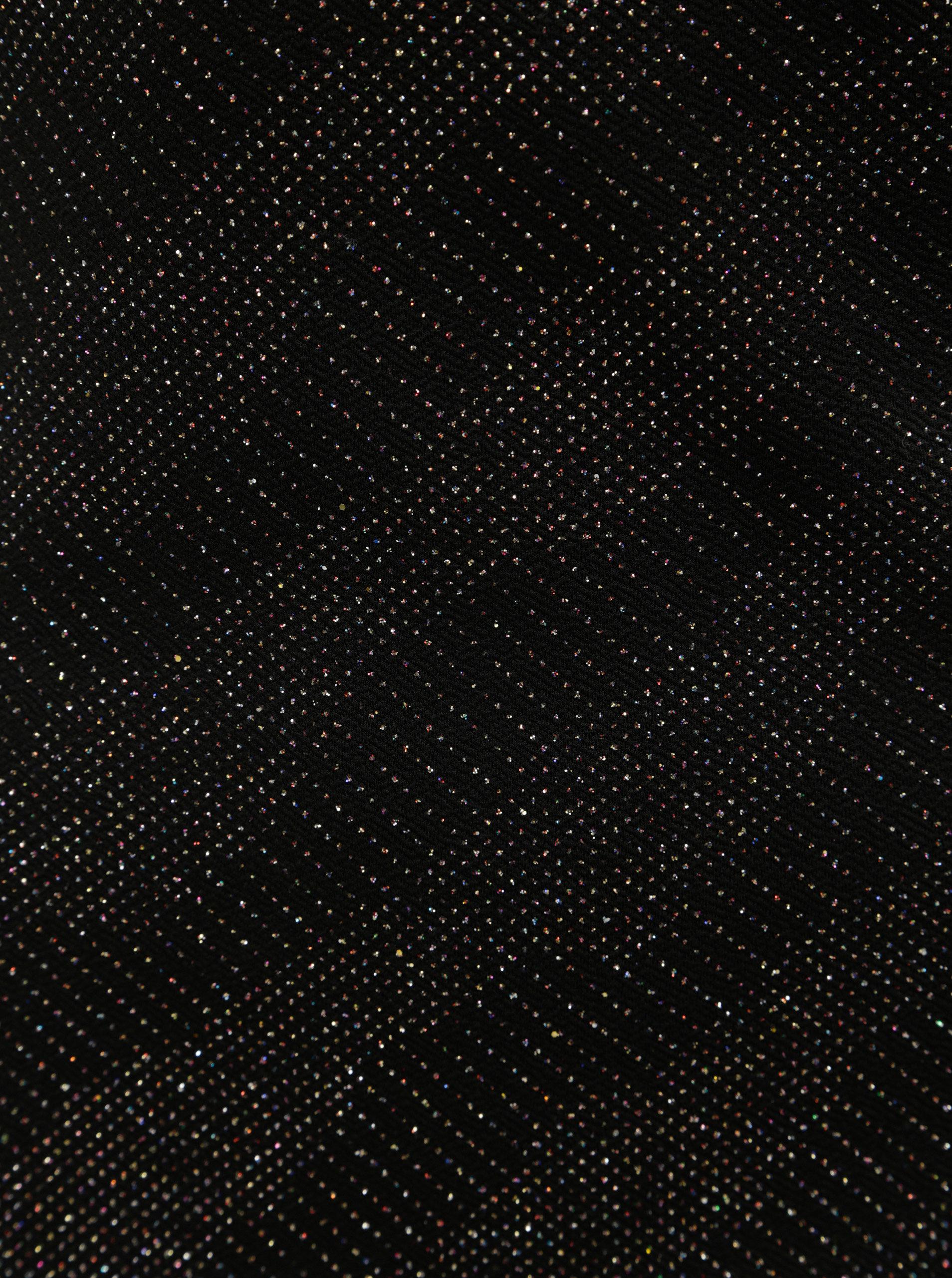 294a51c47d79 Čierne puzdrové šaty s trblietavým efektom Dorothy Perkins ...