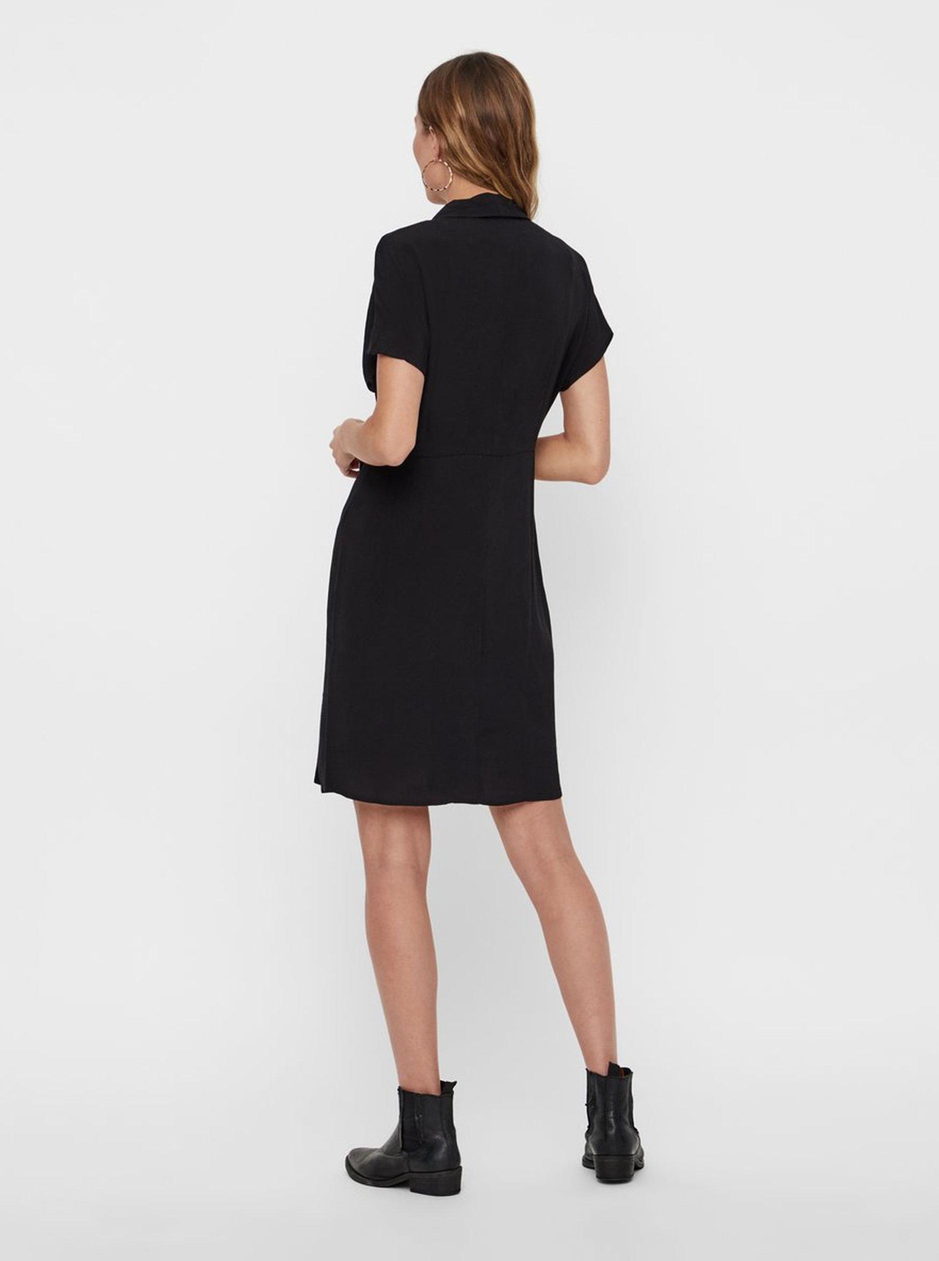 Černé šaty VERO MODA Riga ... 7f4ba2d511