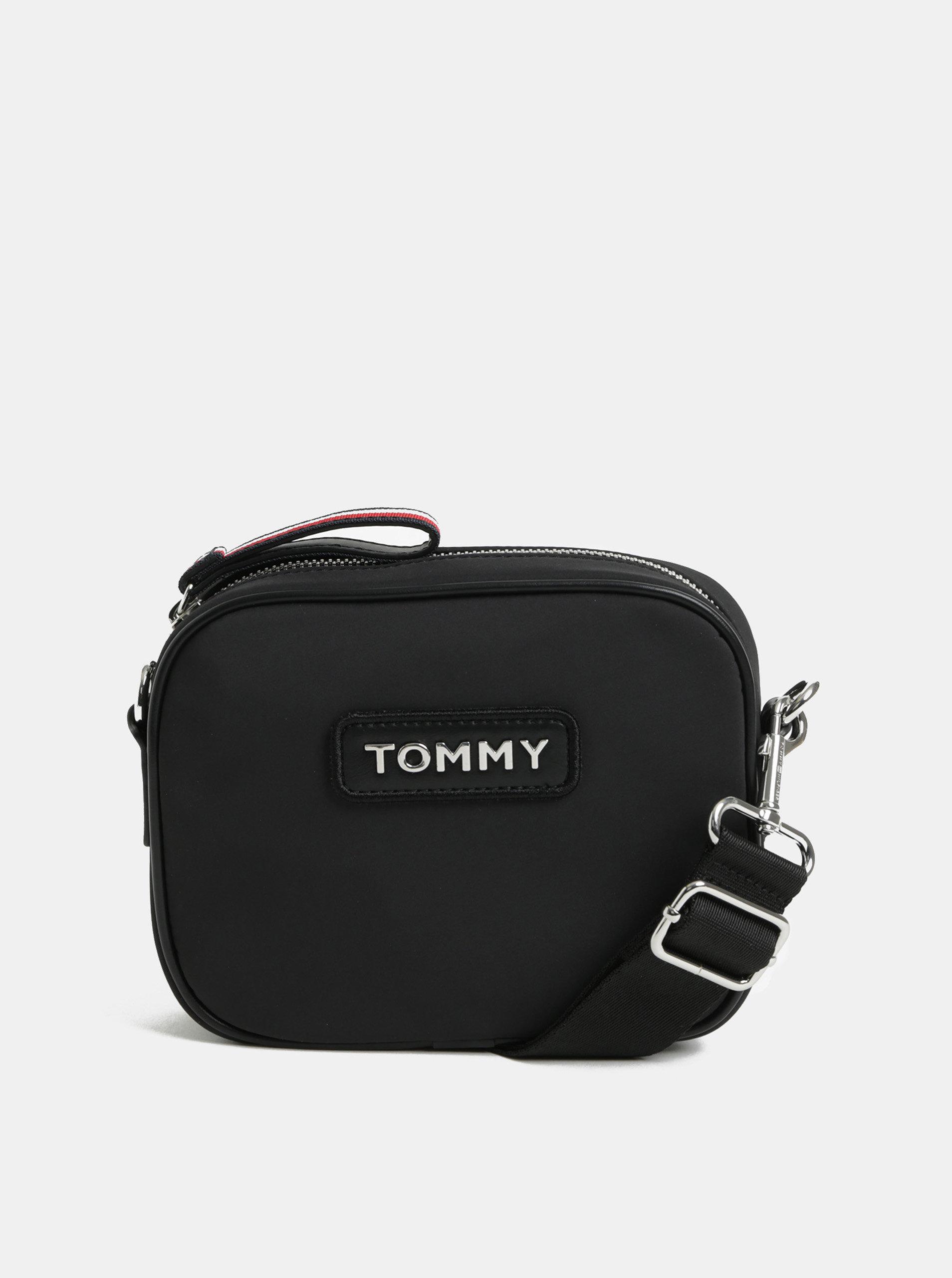 Černá crossbody kabelka Tommy Hilfiger ... 9e1608048a3