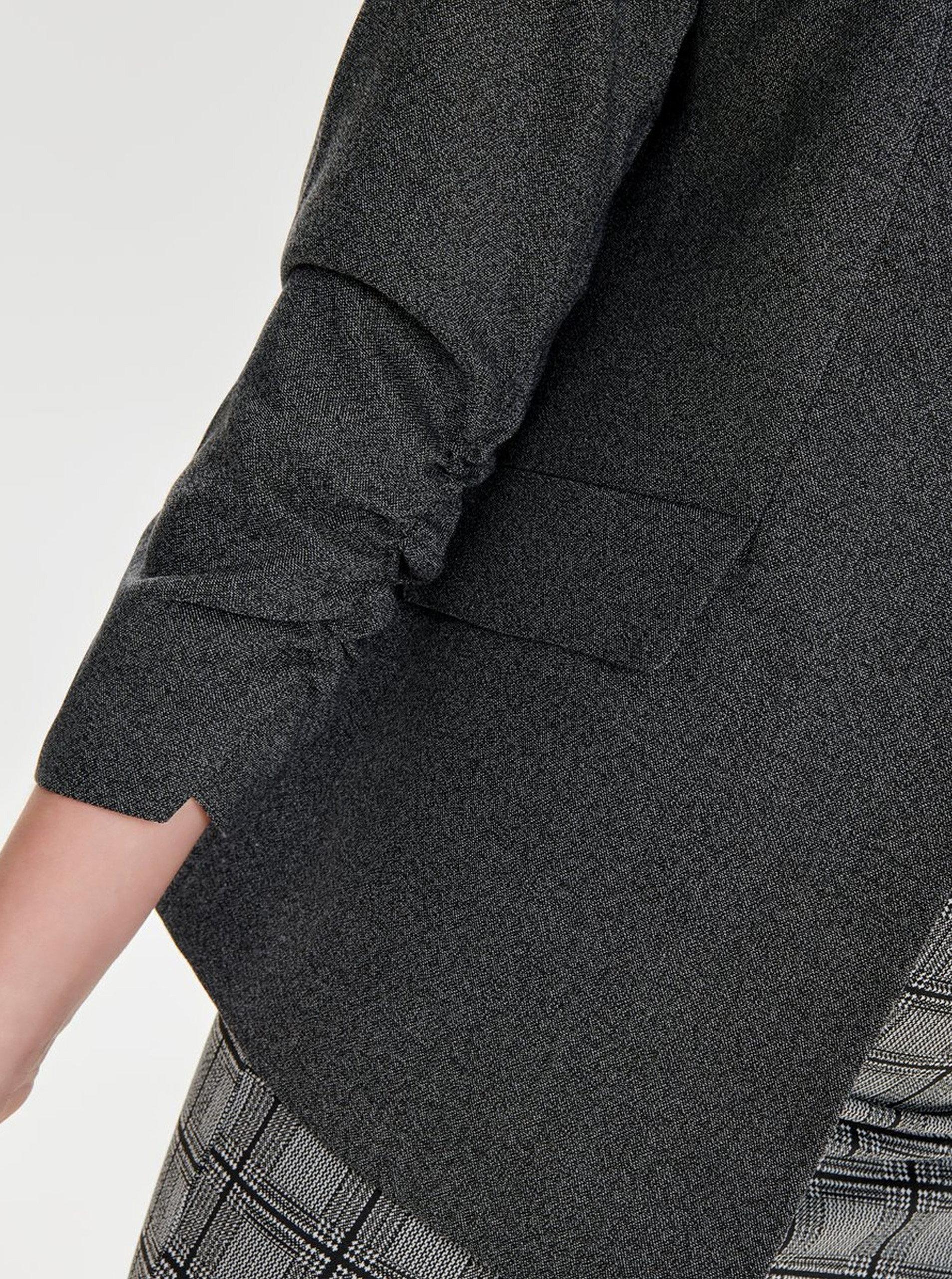 3dd8dd9adbd8 Sivé sako s nariasenými rukávmi ONLY Zoey Diana ...