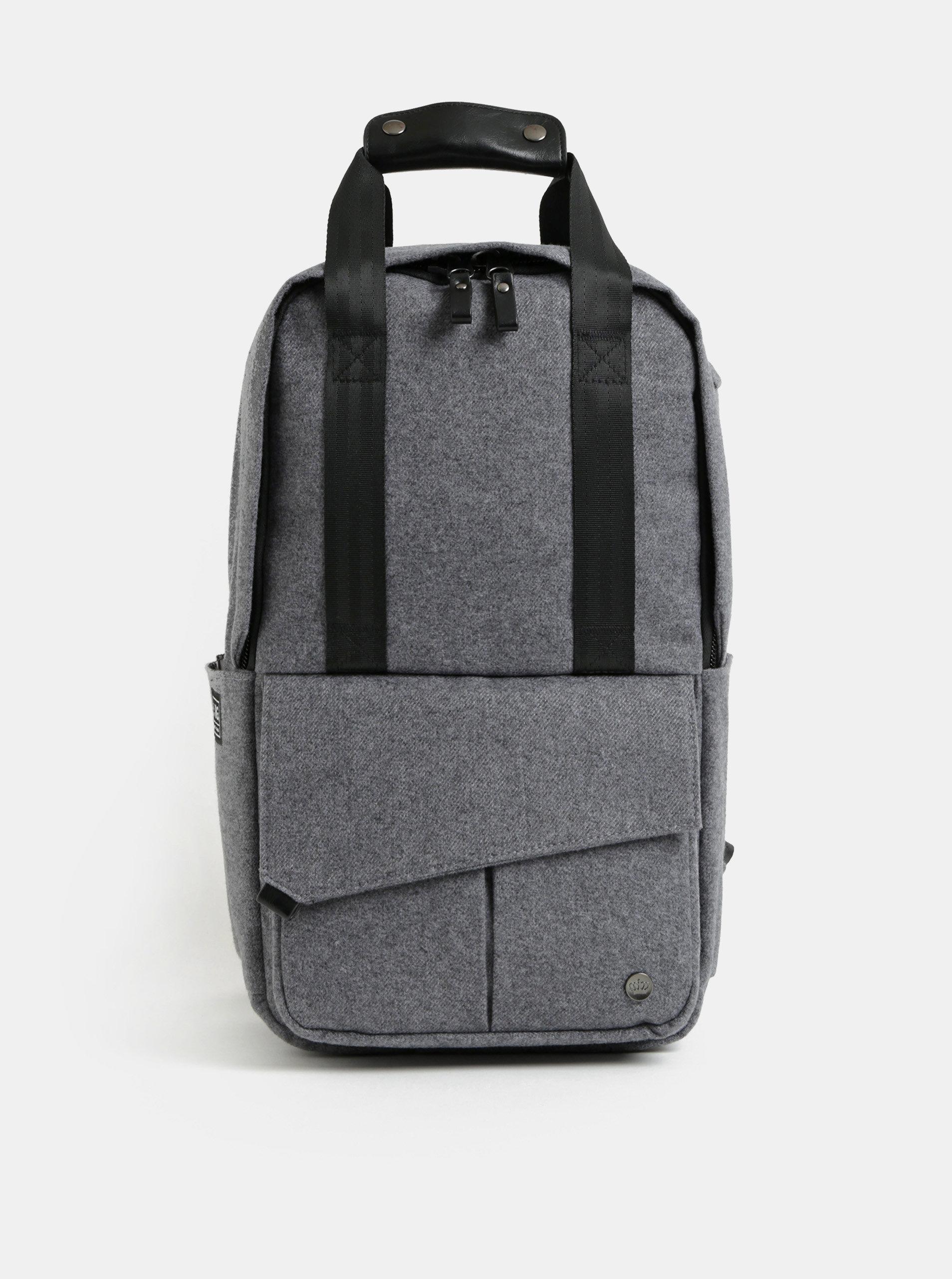 Šedý nepromokavý batoh s vnitřní taškou na notebook 2v1 PKG 12 l ... 1441132705