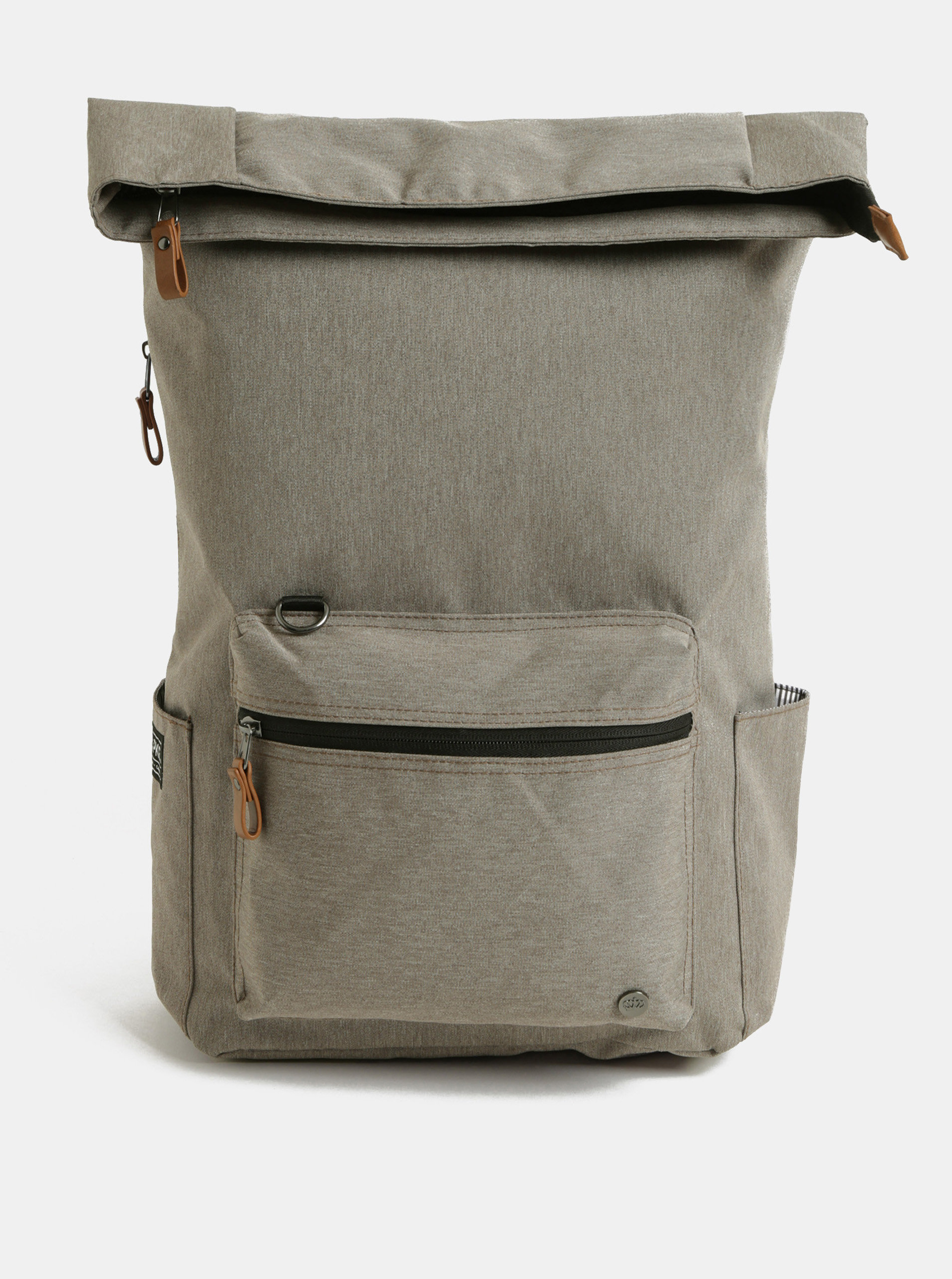 Světle hnědý nepromokavý batoh s vnitřní taškou na notebook 2v1 PKG 22 l ... 41b85fe2ce