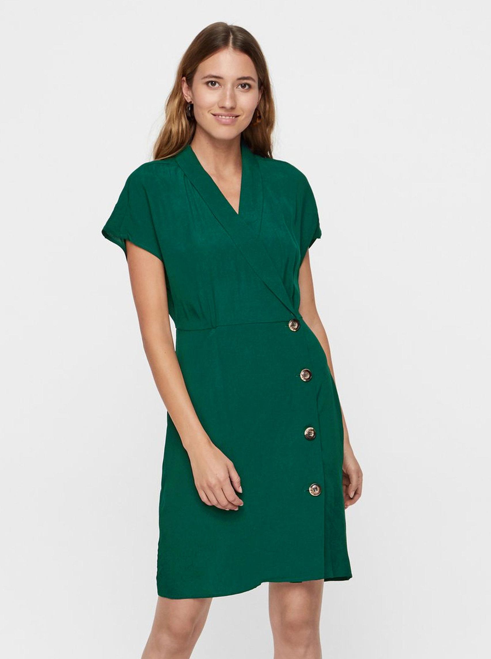 778fde1775ab Zelené šaty VERO MODA Riga ...