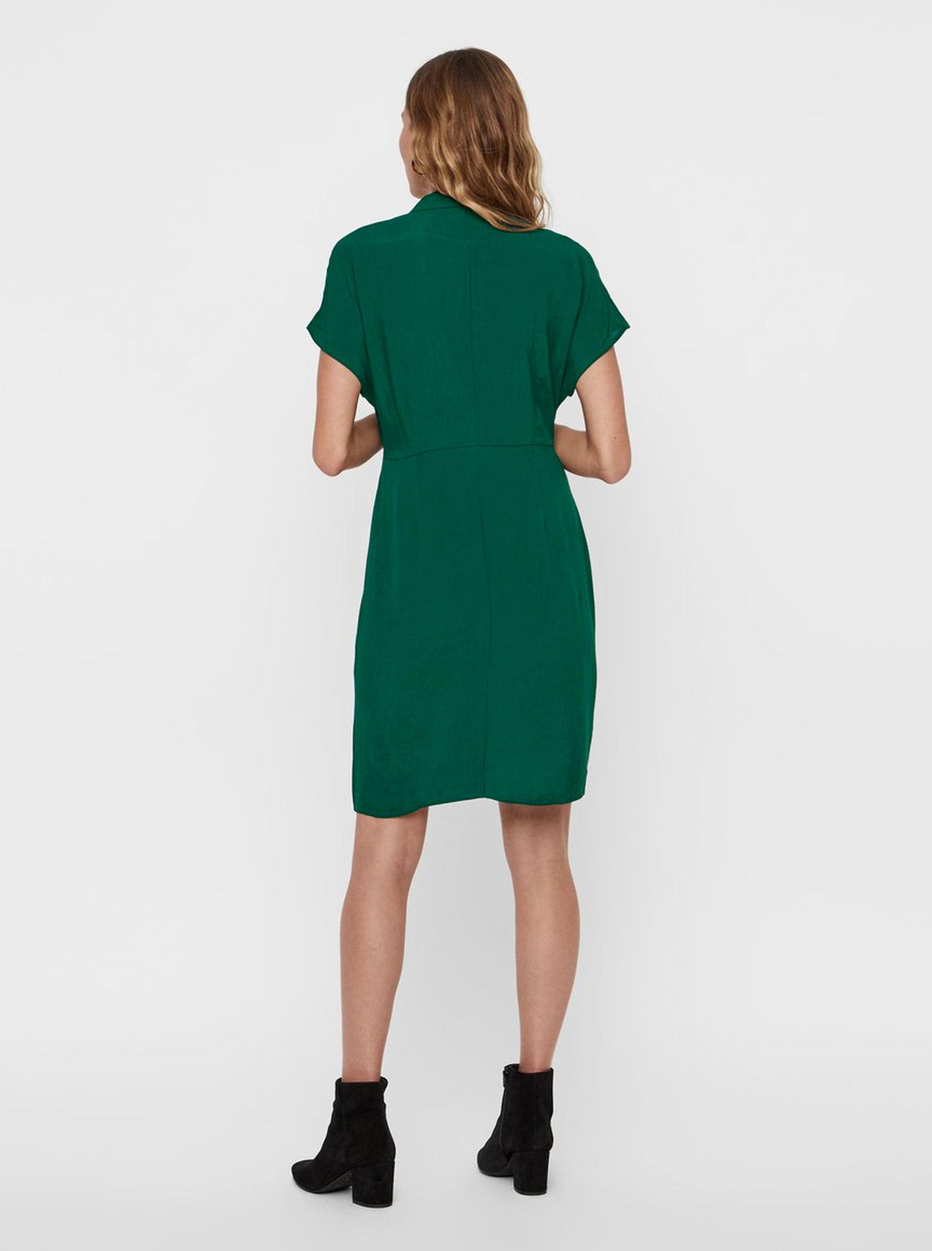 43ce03e64c46 Zelené šaty VERO MODA Riga ...