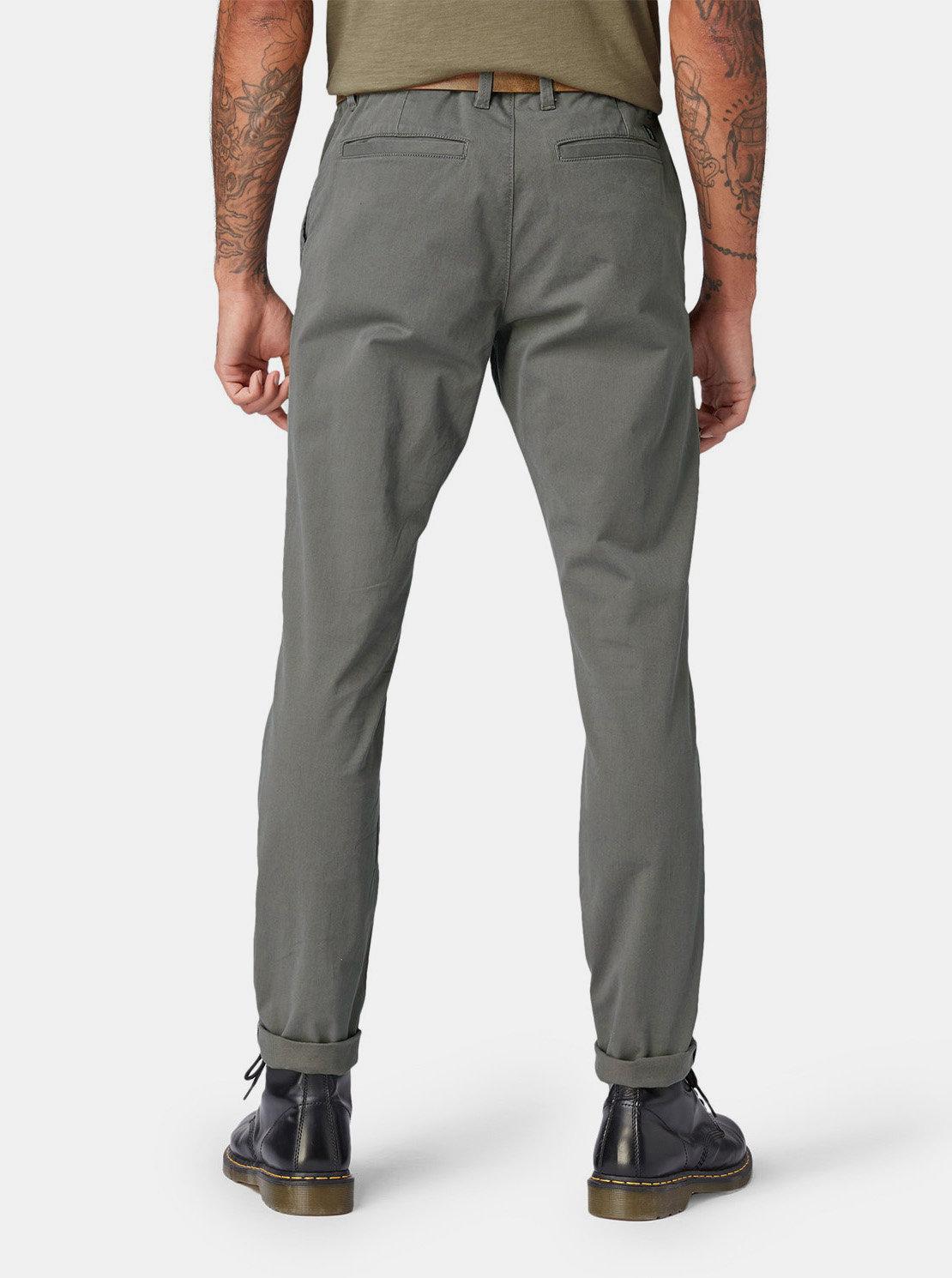 95311a214dd6 Sivé pánske slim chino nohavice Tom Tailor Denim ...