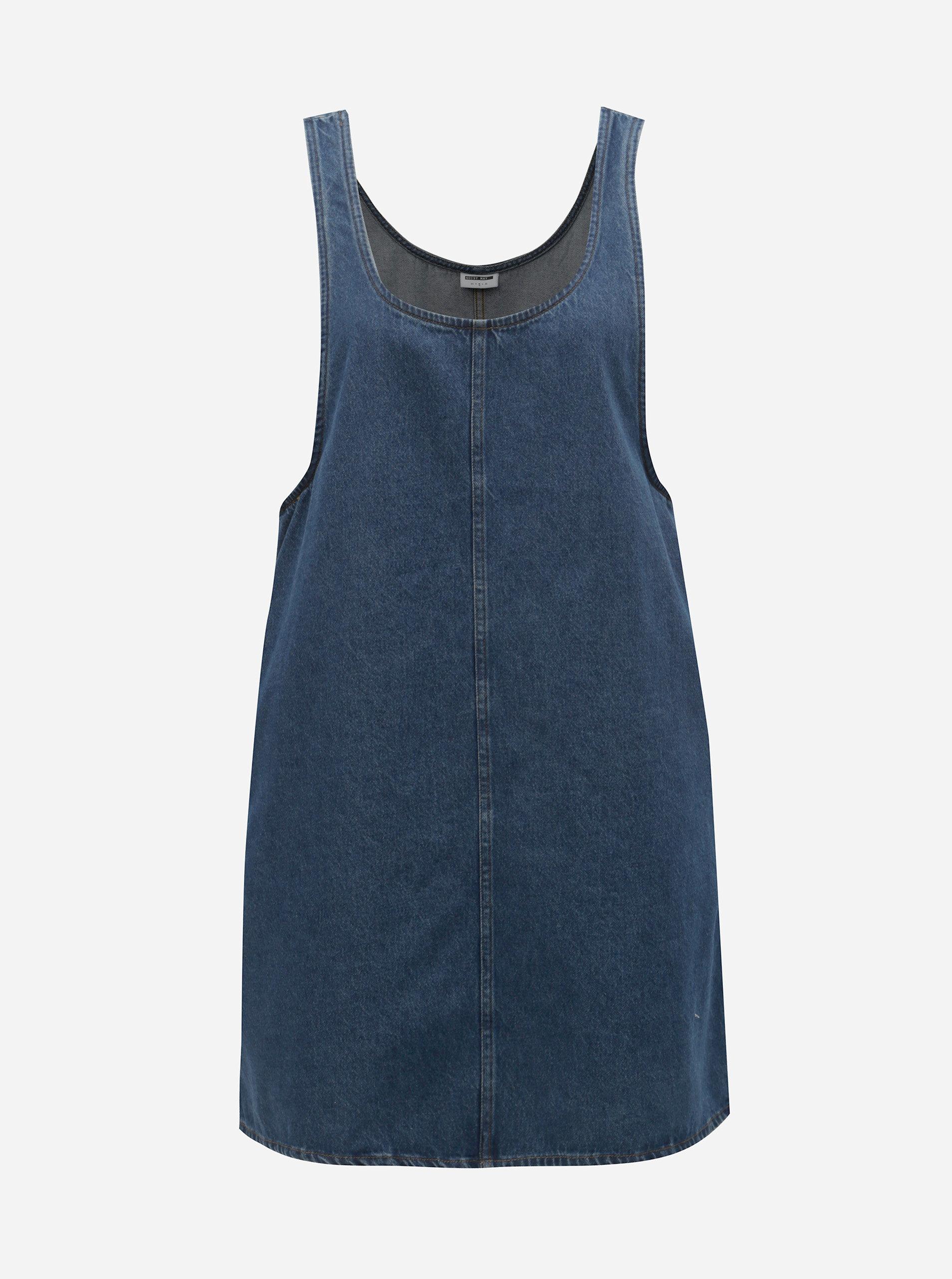 Modré džínové šaty s kapsami Noisy May Wilda ... 197b551968a
