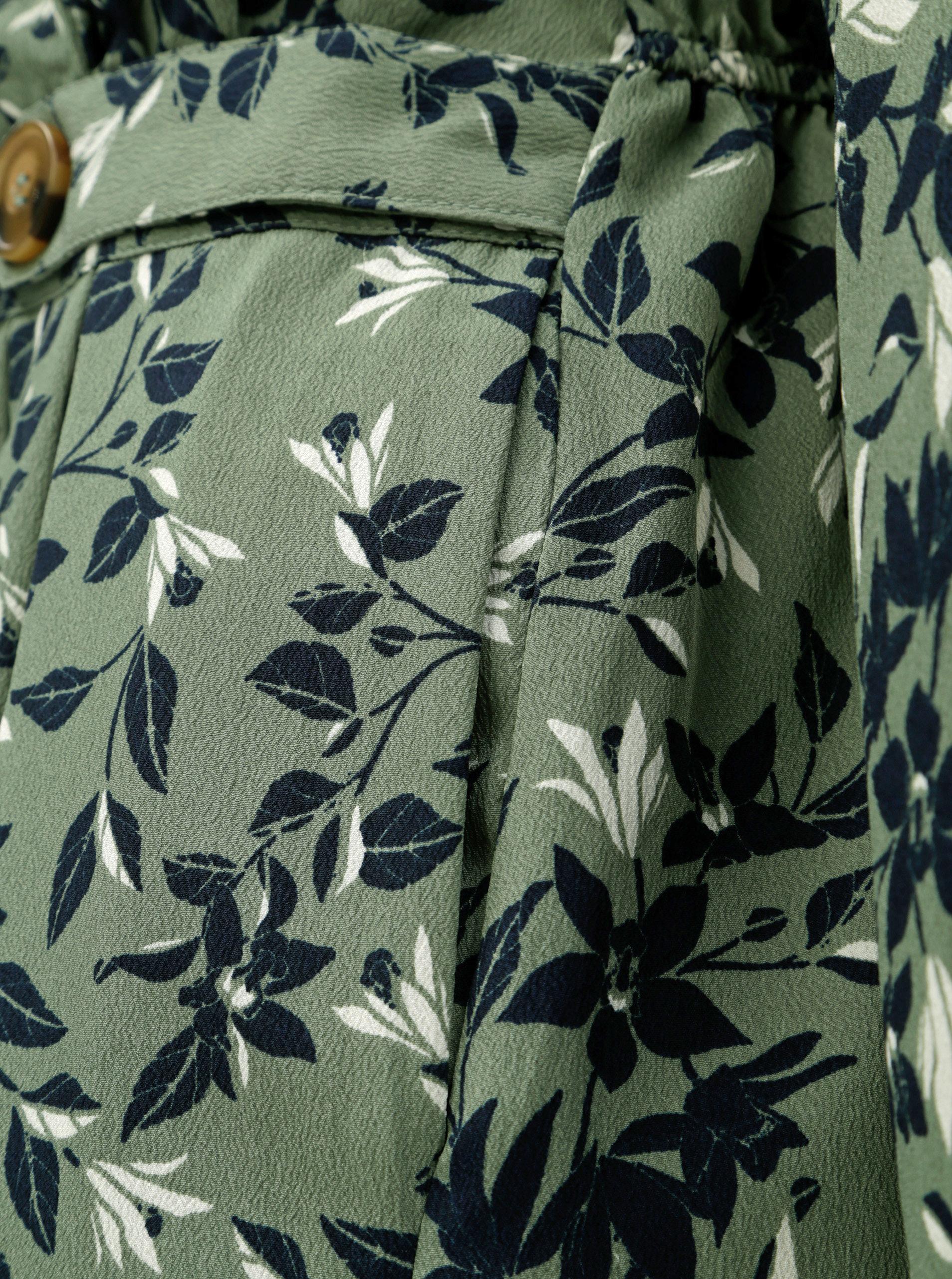 99542baf6a44 Zelené kvetované šaty VERO MODA Viola ...
