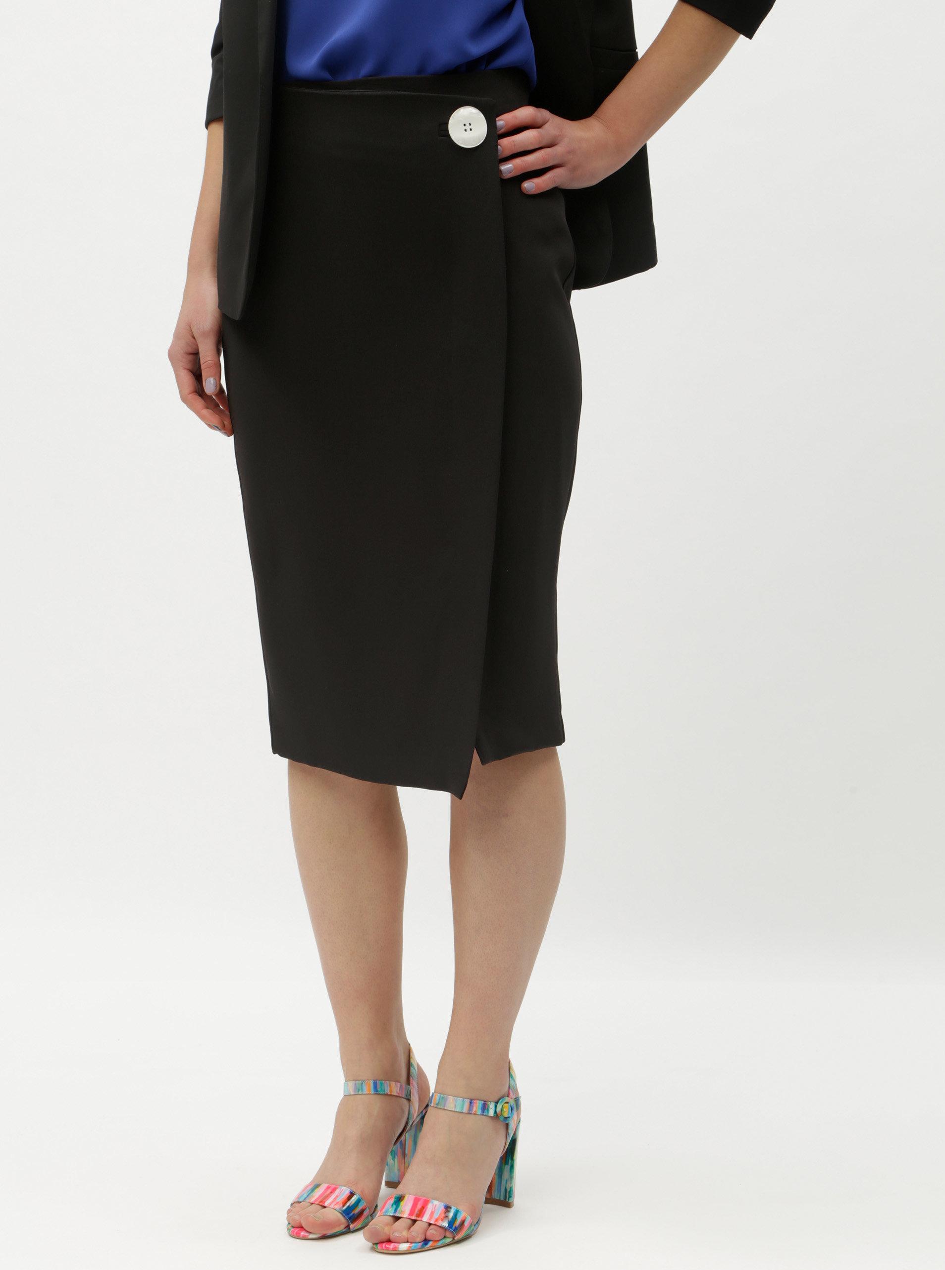 Černá pouzdrová sukně Dorothy Perkins ... d0032780f4