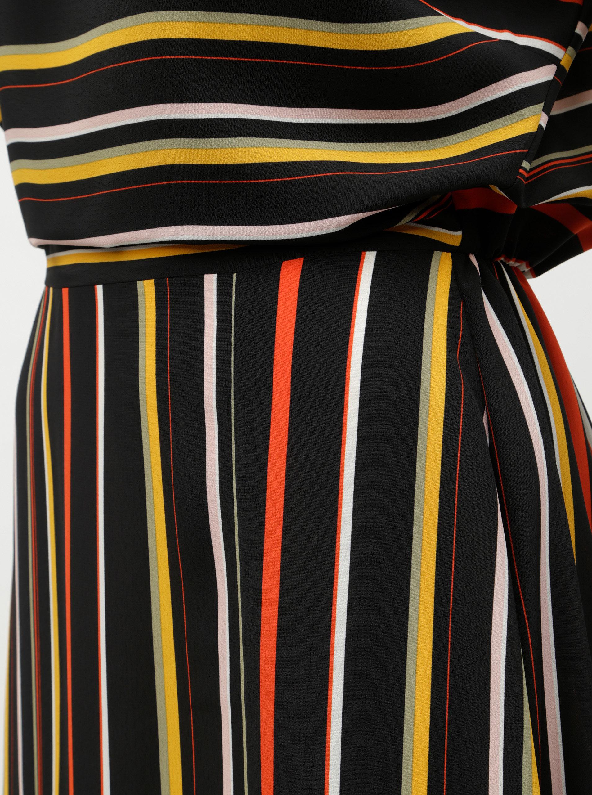 Červeno-černé pruhované maxišaty Dorothy Perkins ... ca58a5915c