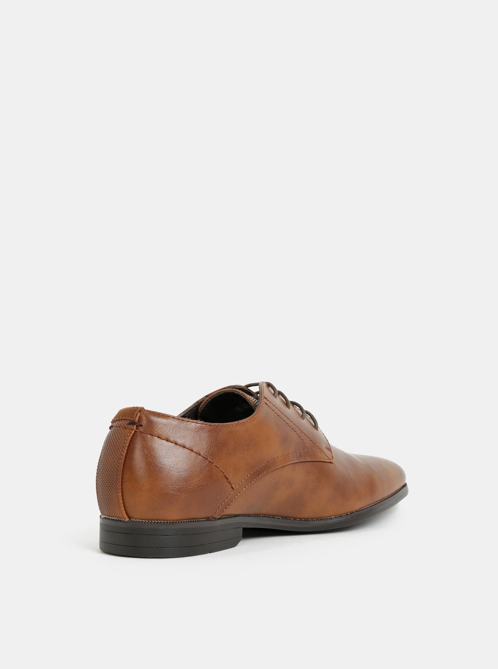 f190b22959 Hnedé pánske poltopánky Burton Menswear London ...