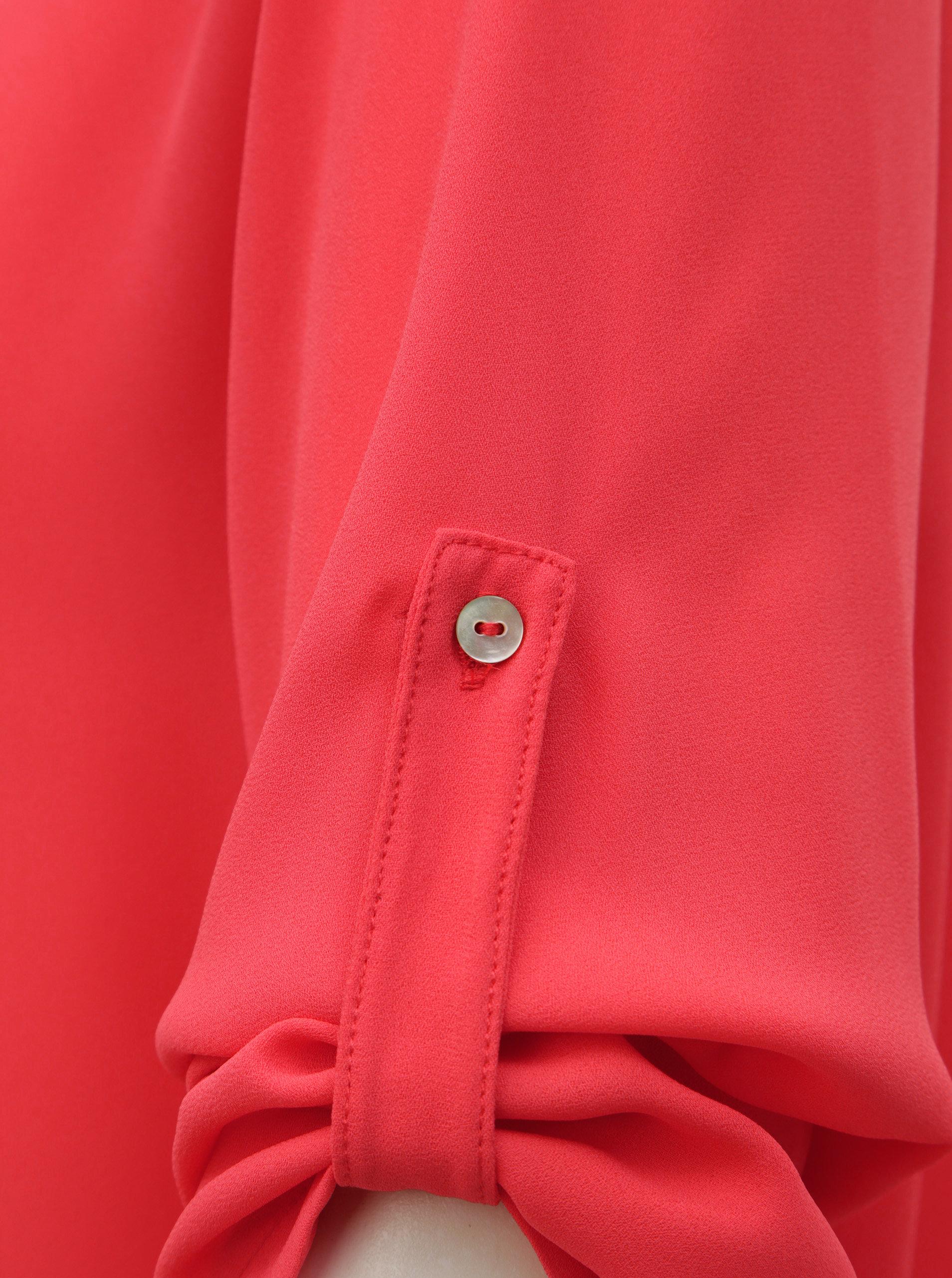 2f847868c0ed Ružová blúzka s prestrihom v dekolte ONLY Agnes ...