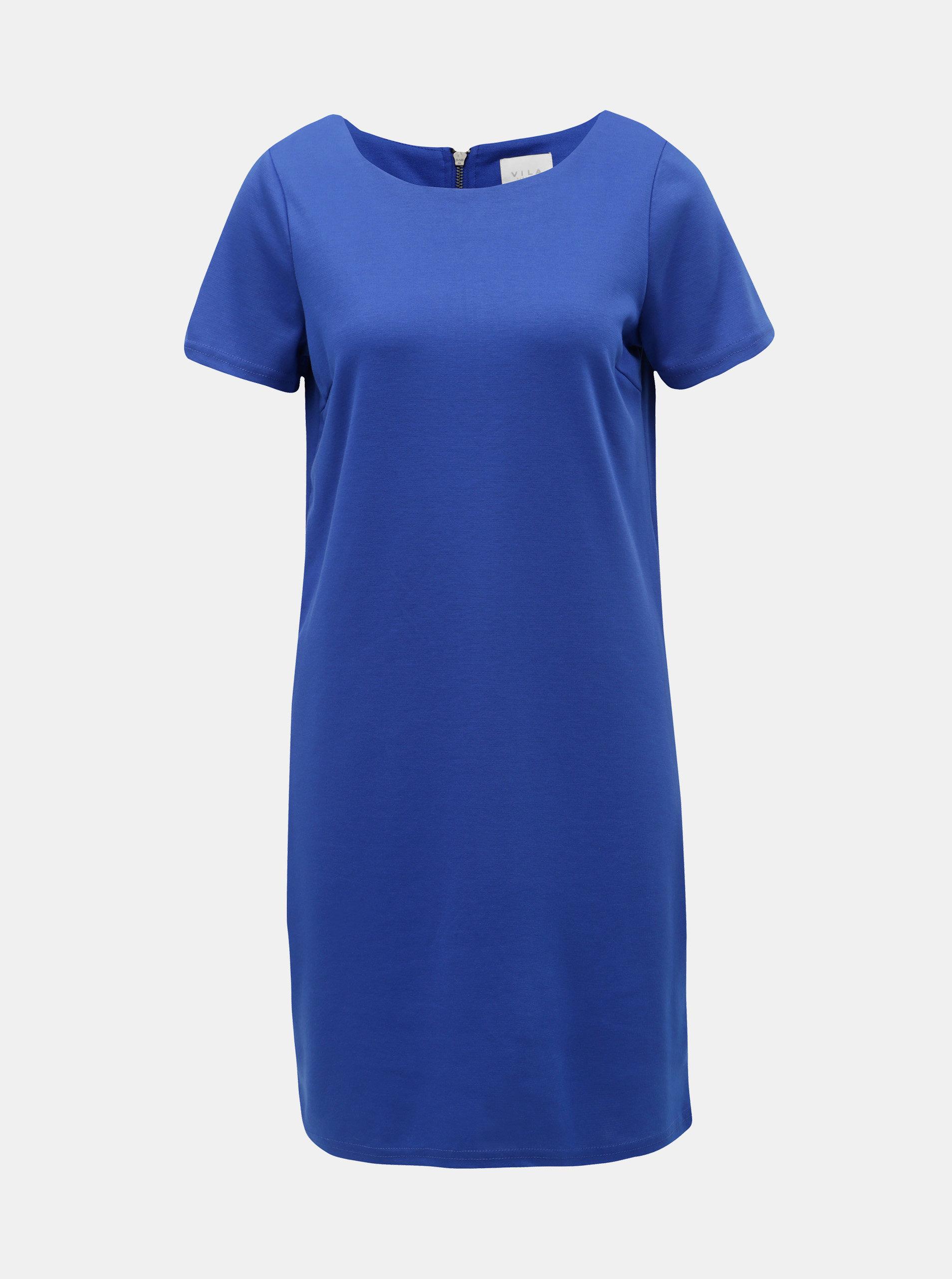 Modré šaty VILA Tinny