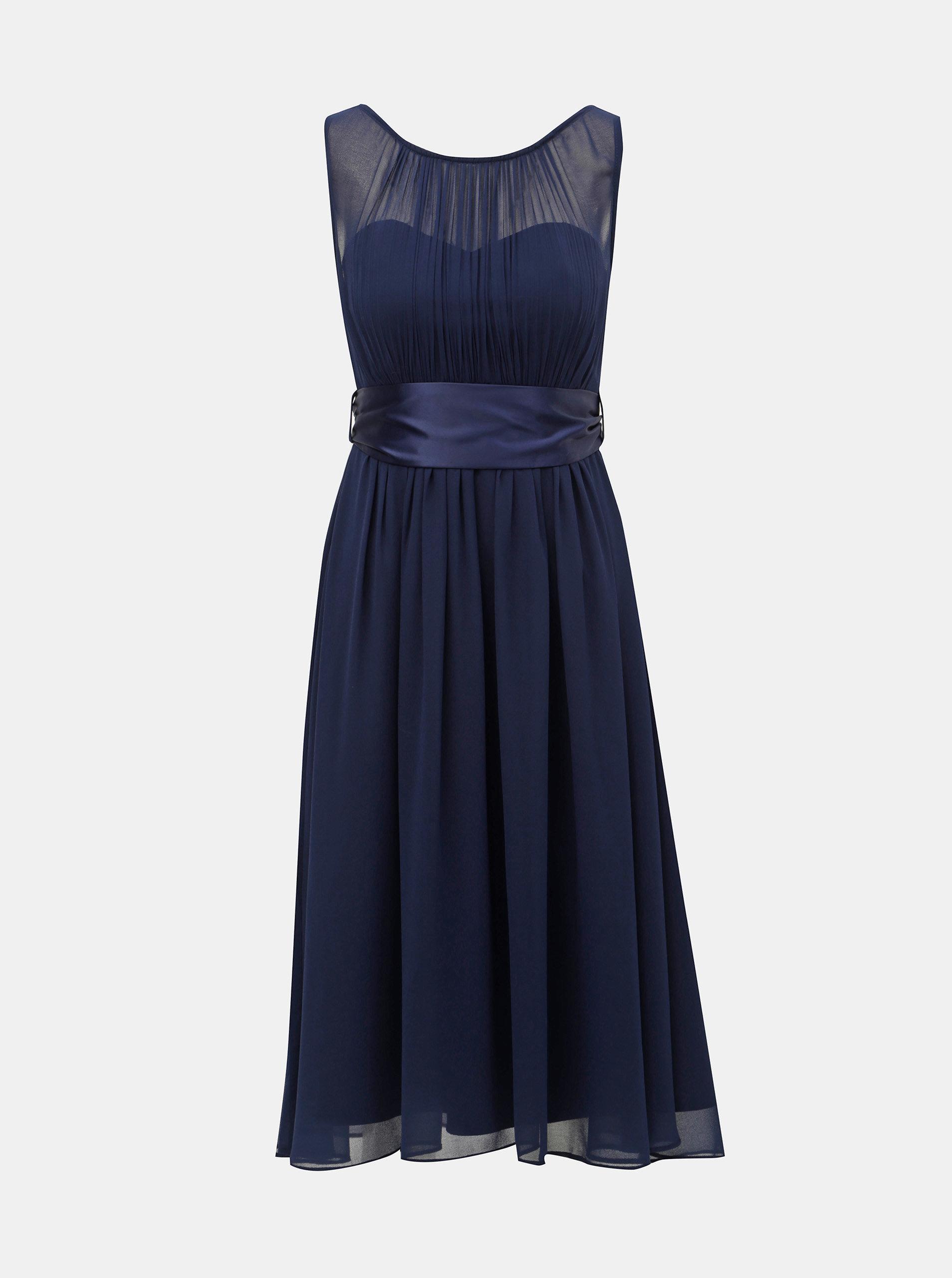 09c54759e6 Tmavomodré šaty Dorothy Perkins ...
