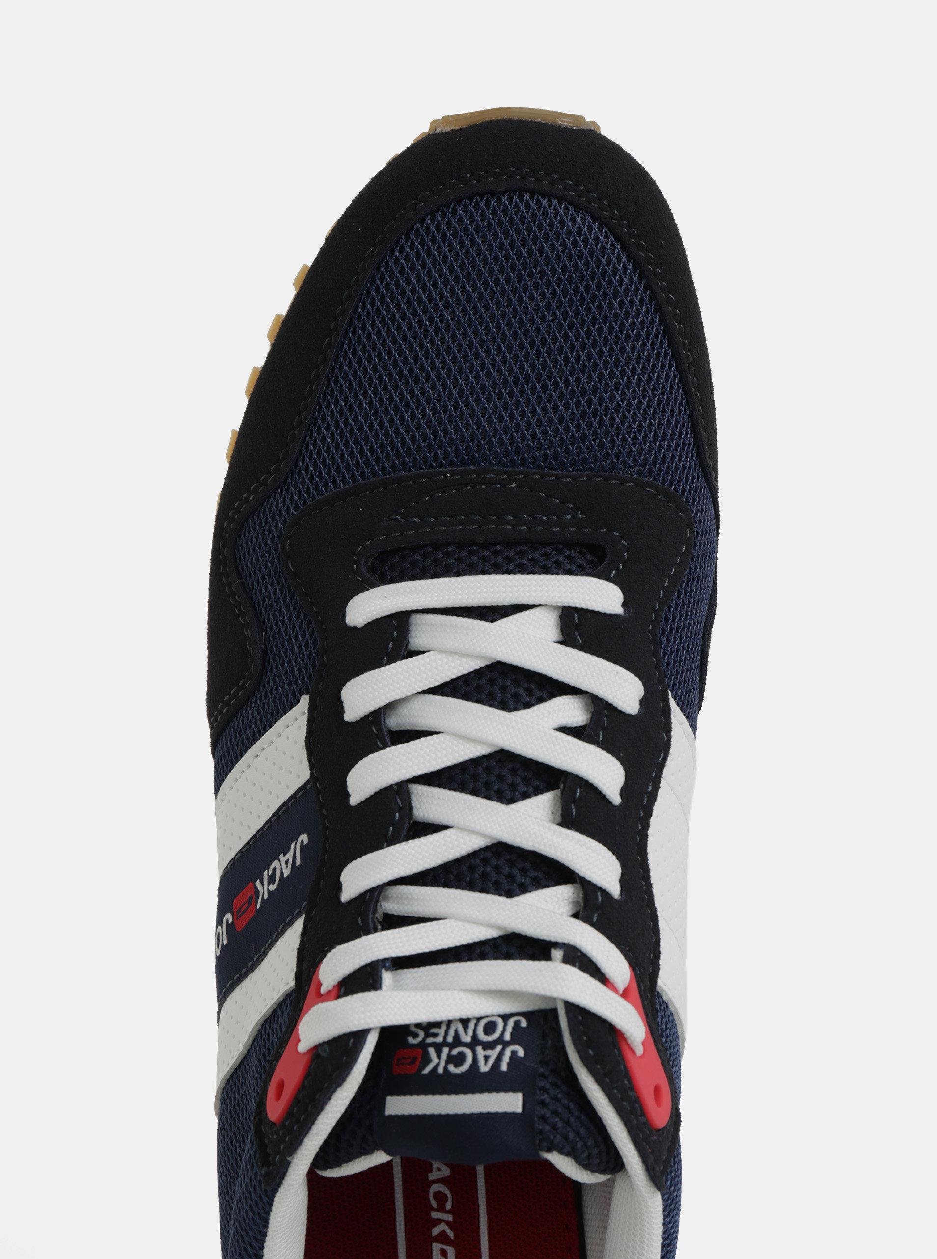 4706916b63 Čierno–modré pánske tenisky Jack   Jones Stellar ...