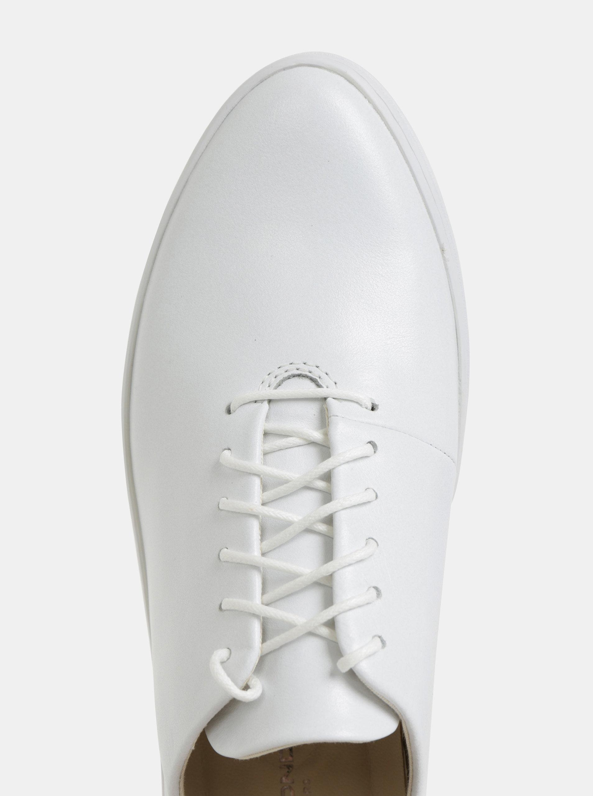 ceec203d61 Biele dámske kožené tenisky Vagabond Camille ...