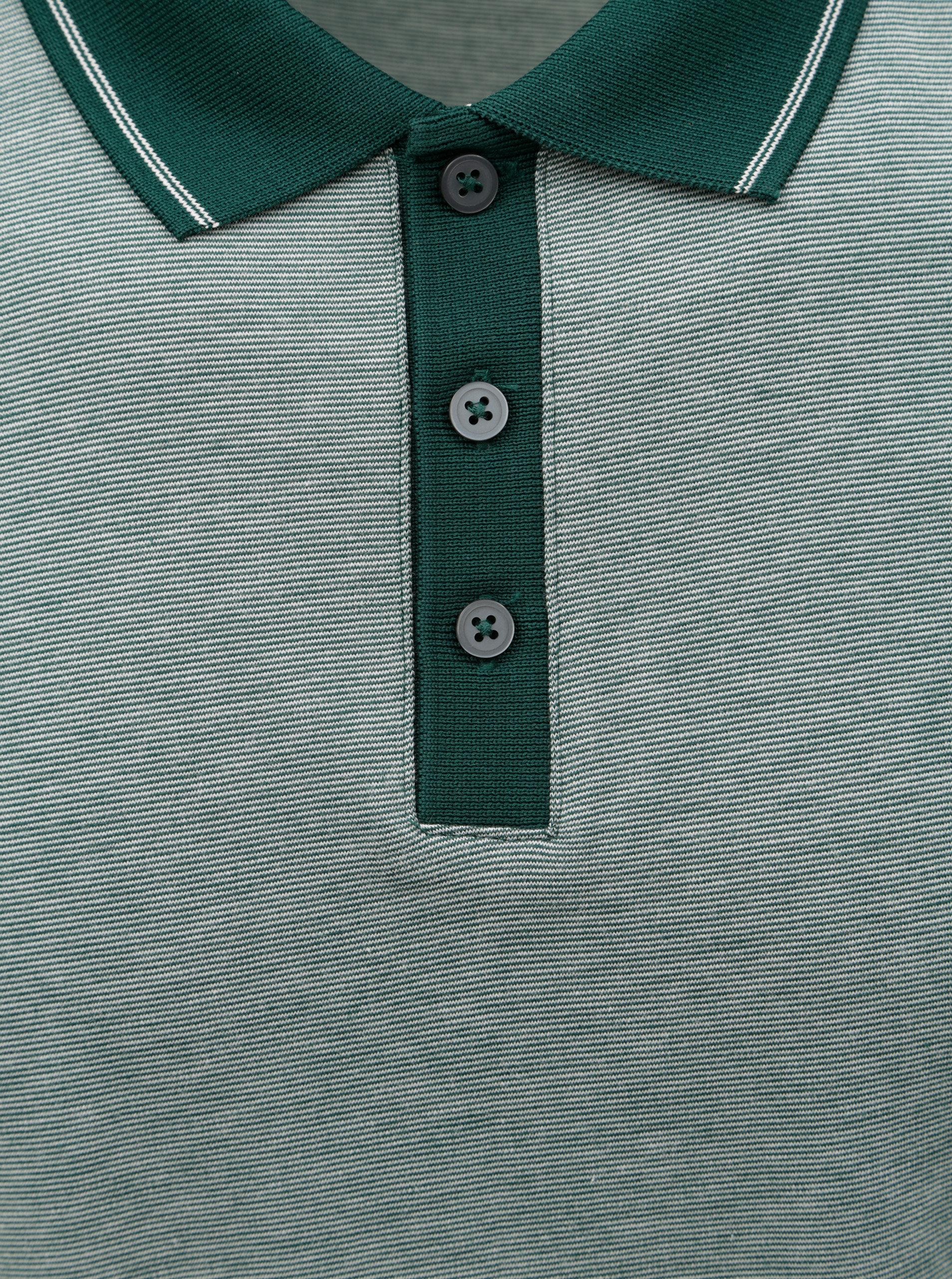 1f1db7f1c6a89 Zelená melírovaná polokošeľa Selected Homme Joe   ZOOT.sk