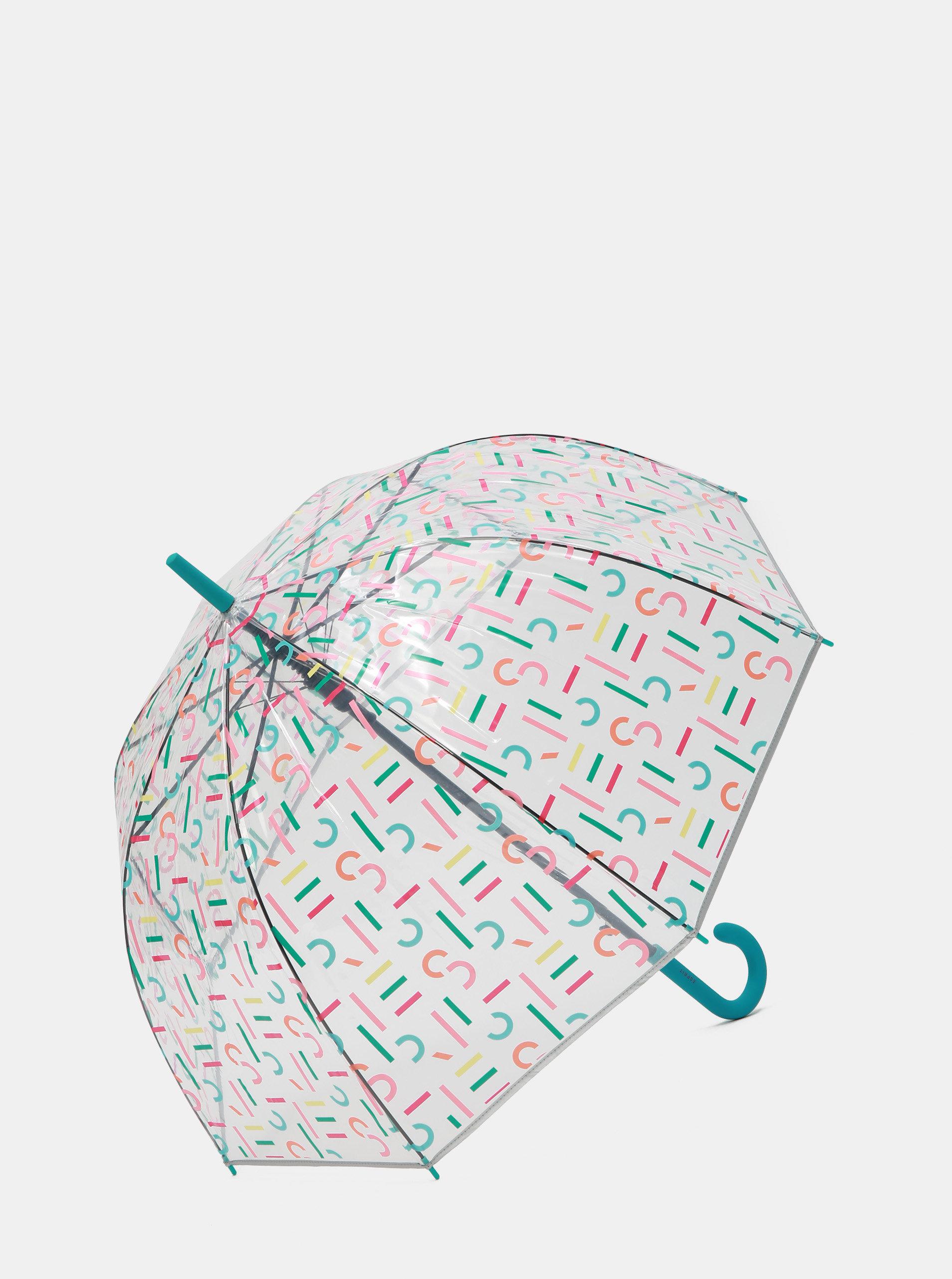 c0fcb84ed Transparentný vystreľovací dáždnik s potlačou Esprit | ZOOT.sk