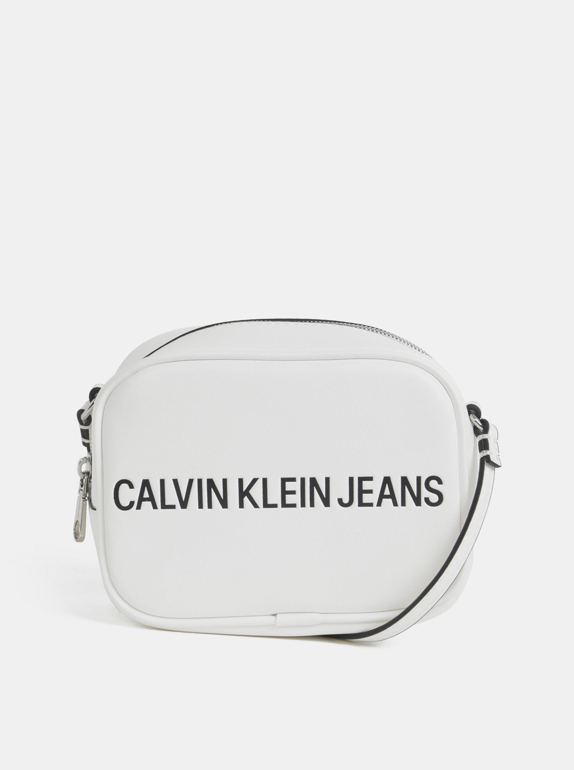 12bdc4d3e7 Biela crossbody kabelka Calvin Klein Jeans ...