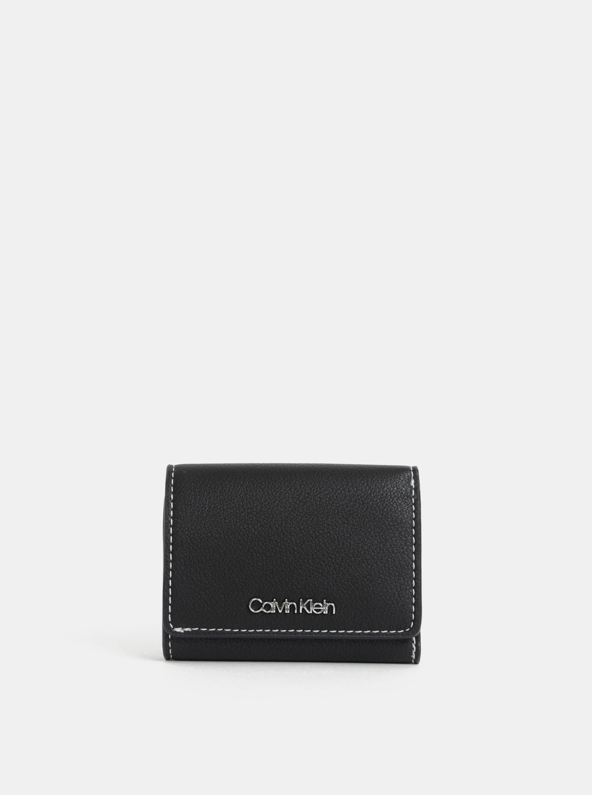e81d79c41a Čierna dámska peňaženka Calvin Klein Jeans ...